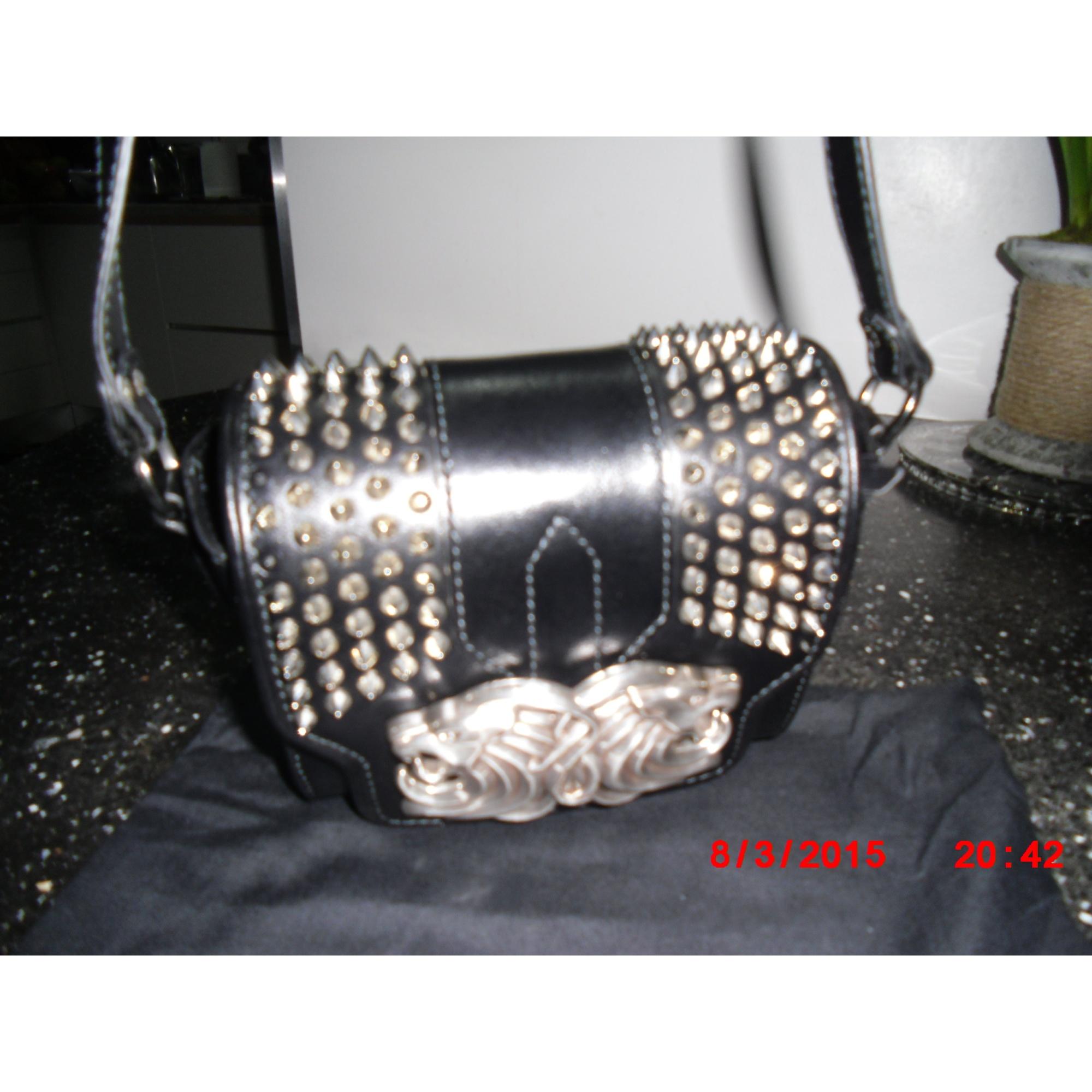 dd9fa7e686 Sac en bandoulière en cuir THE KOOPLES noir vendu par Douce83 - 3446825