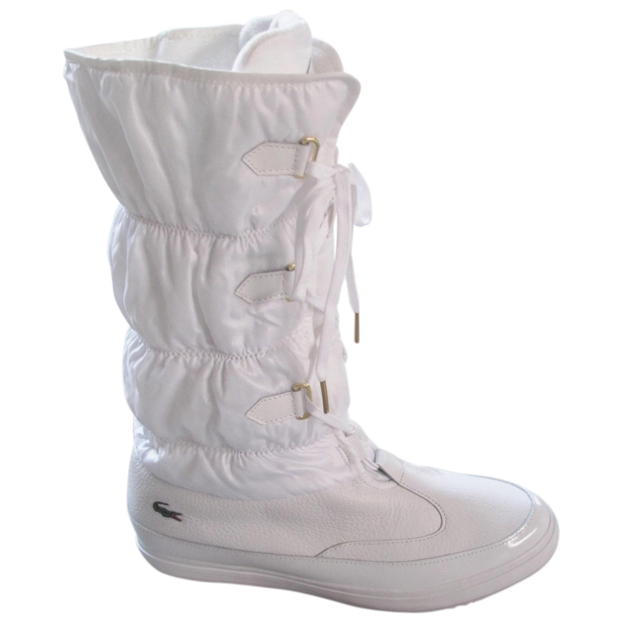 b78603a1cae25d Bottes de neige LACOSTE 40 blanc vendu par Doumee - 3470380
