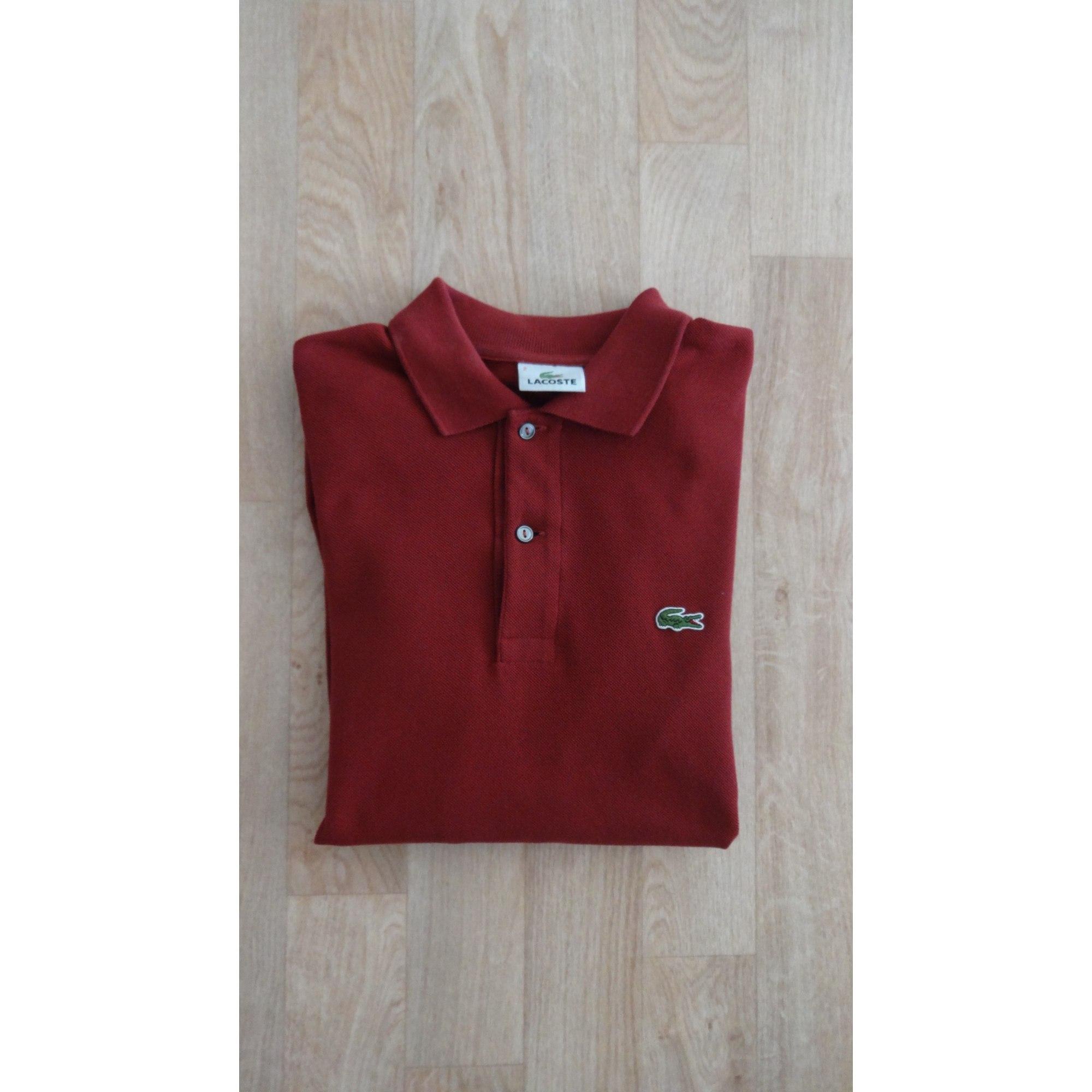 5de4a2f117 Polo LACOSTE 1 (S) rouge vendu par Pierrelille - 3472153