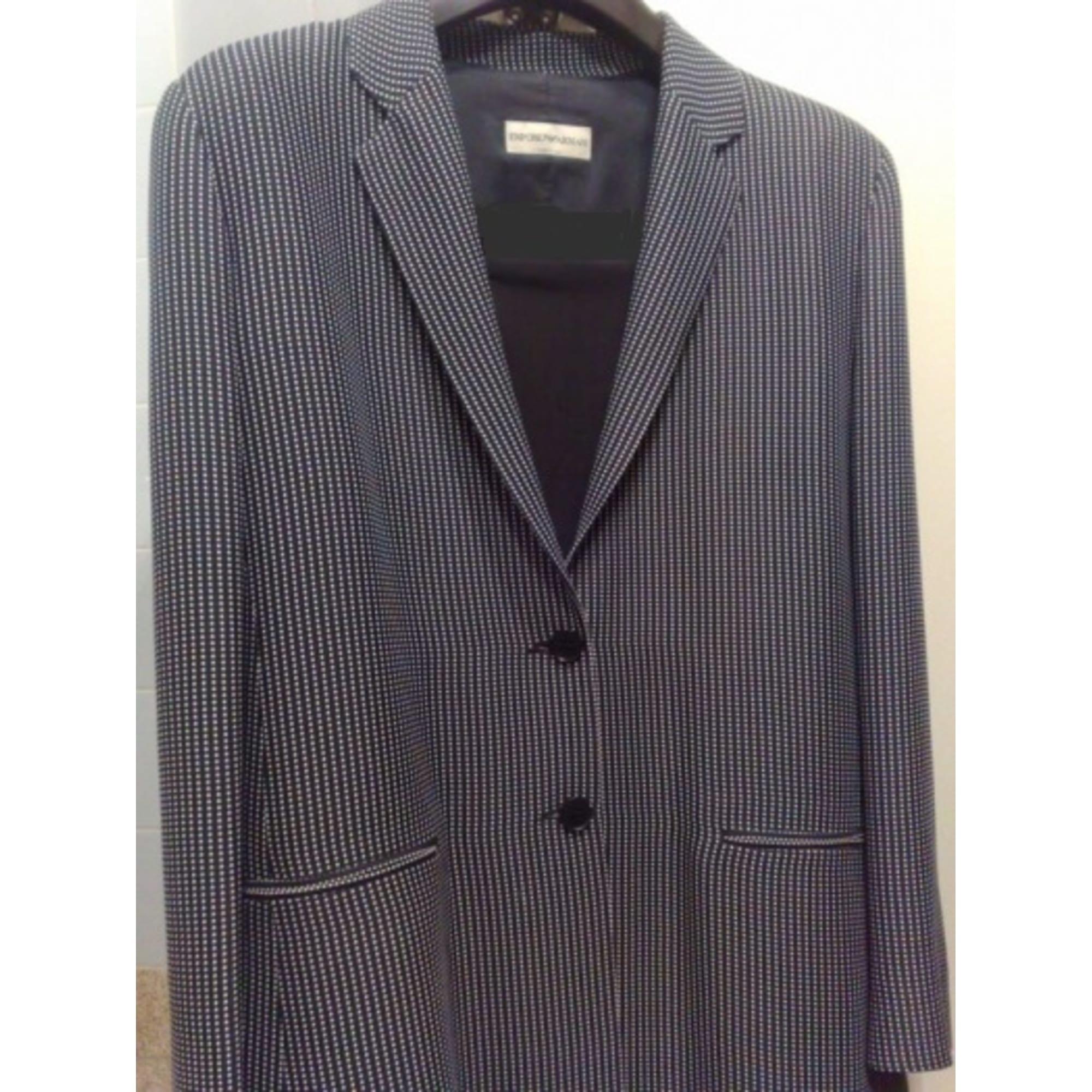 Blazer, veste tailleur EMPORIO ARMANI Noir