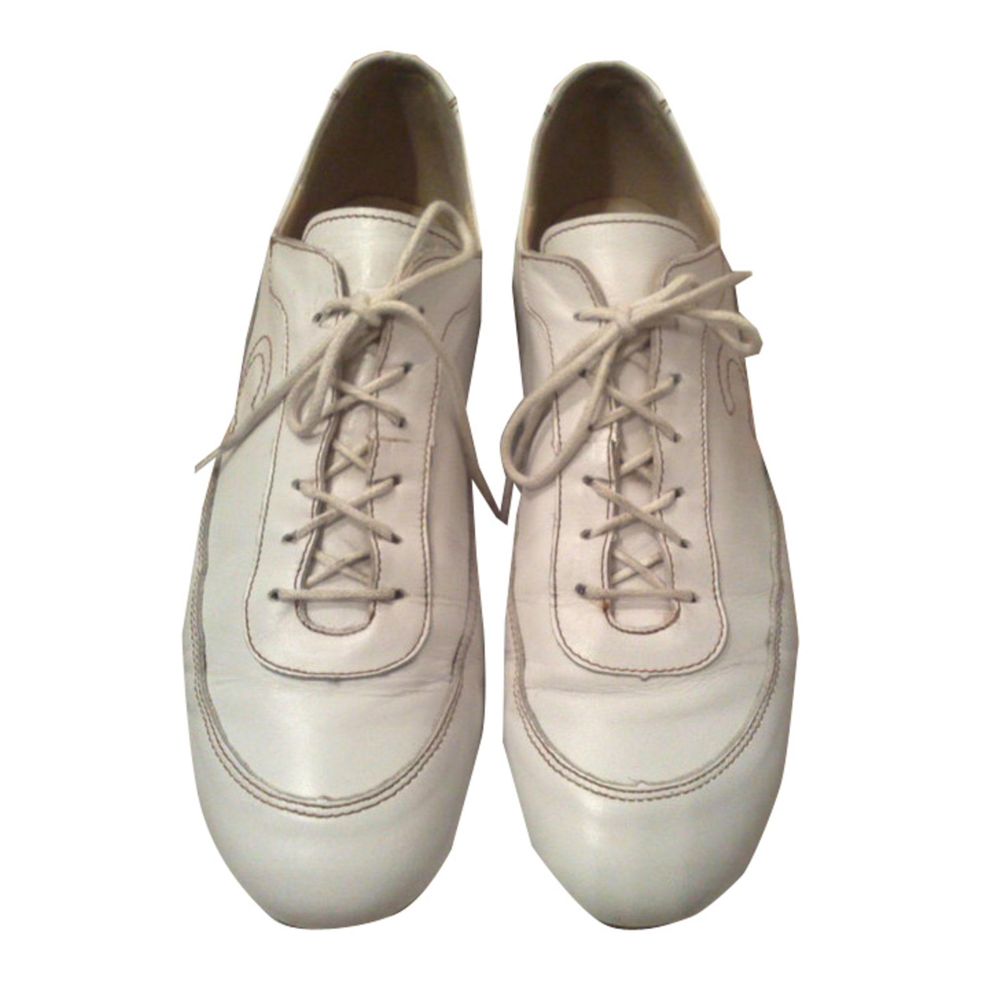 9ddc4a7034270 Chaussures à lacets CYRILLUS 40 blanc - 349677