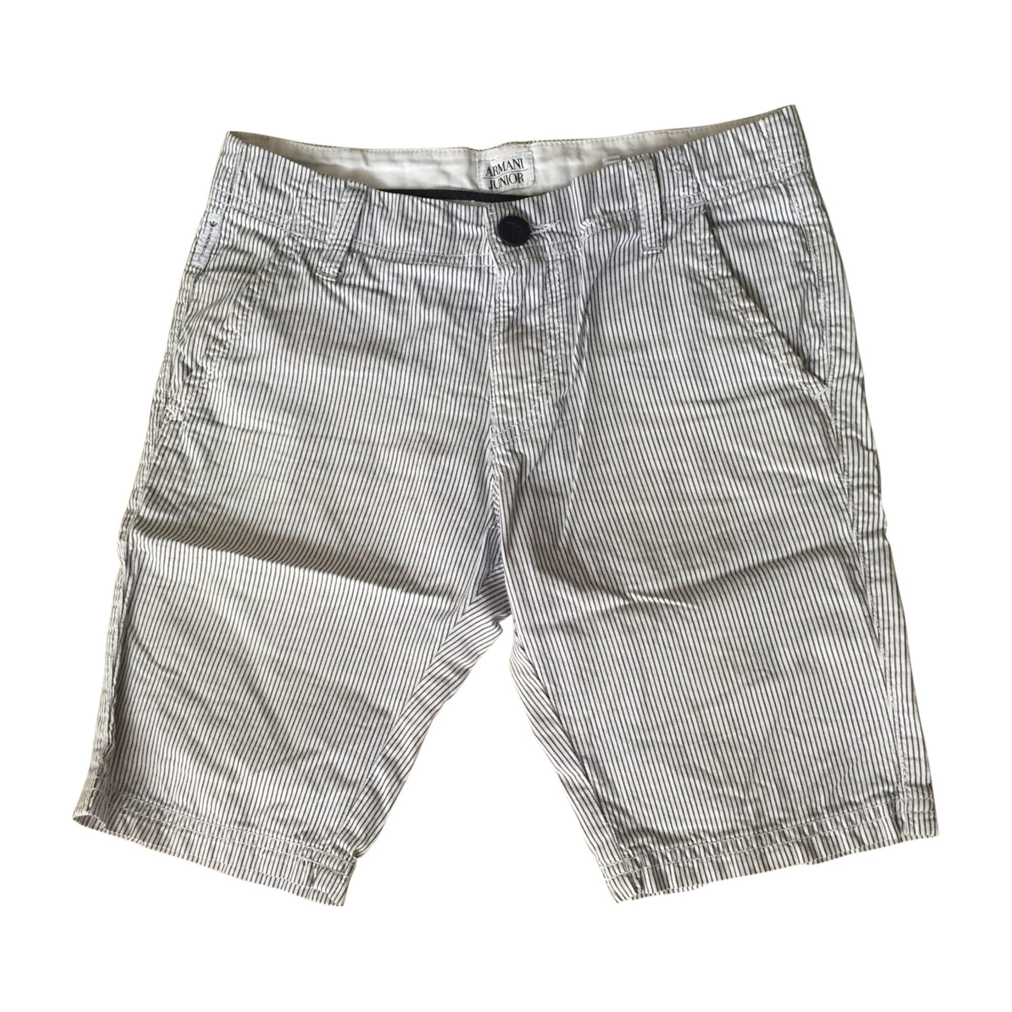 Bermuda Shorts ARMANI White, off-white, ecru