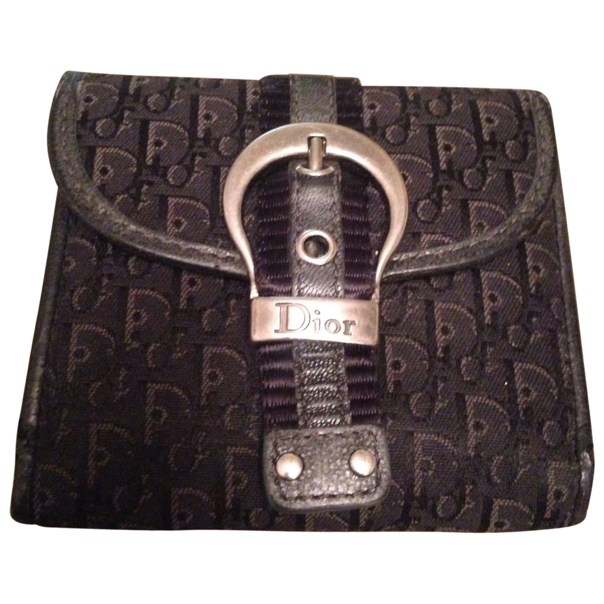 cc6789bc611 Porte-monnaie DIOR noir - 3504286