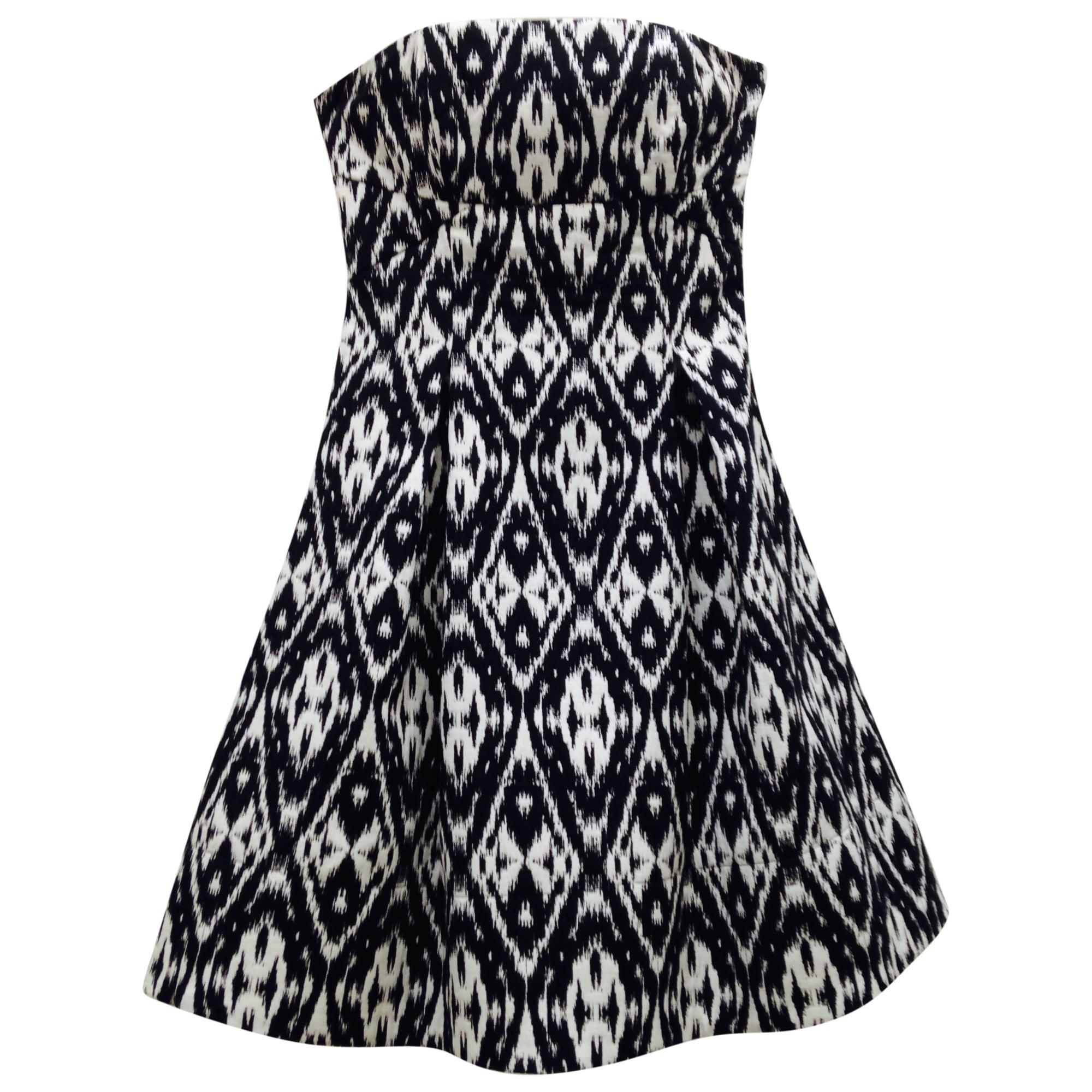 Sinequanone robe blanche noire