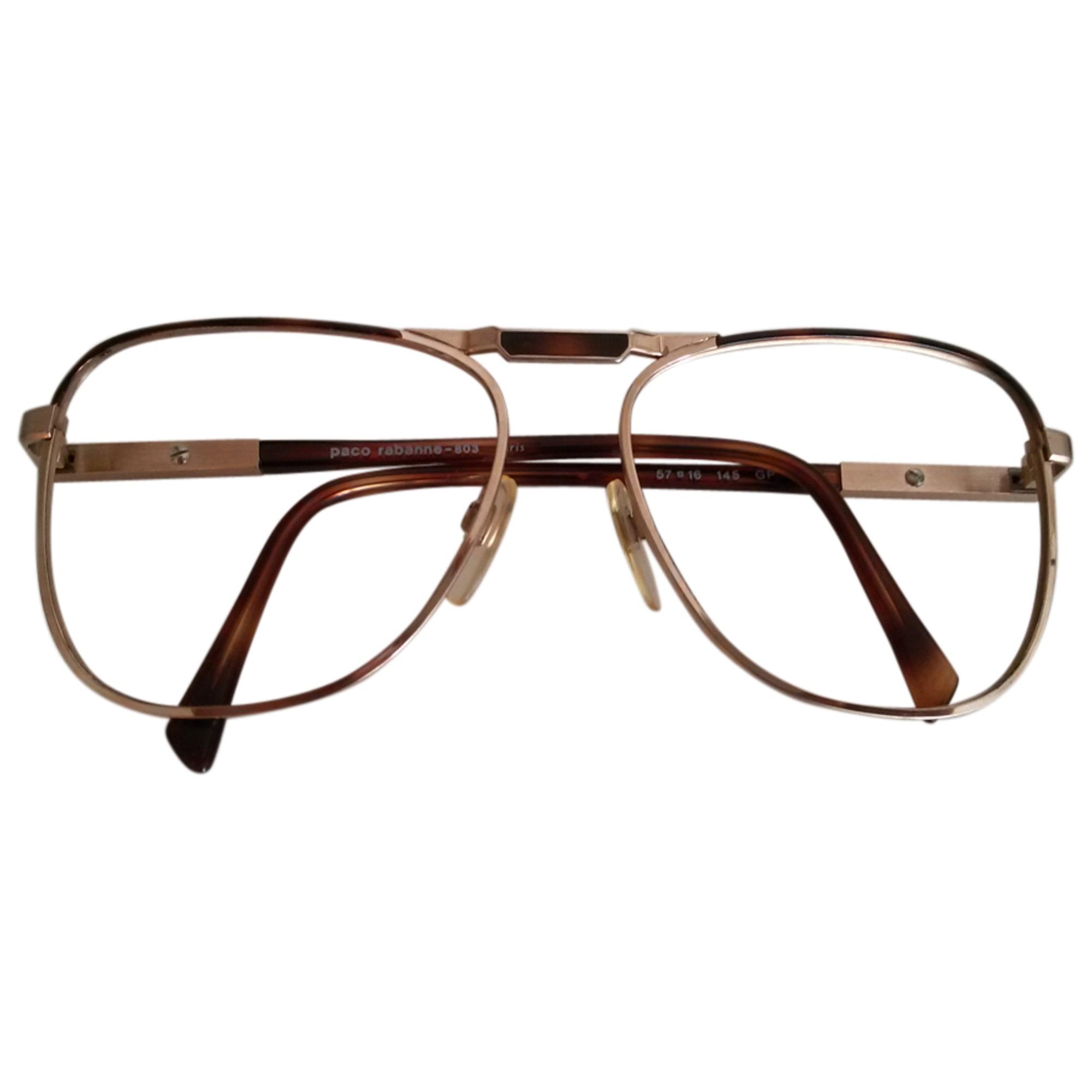 Eyeglass Frames PACO RABANNE golden vendu par Gio112 - 3526123