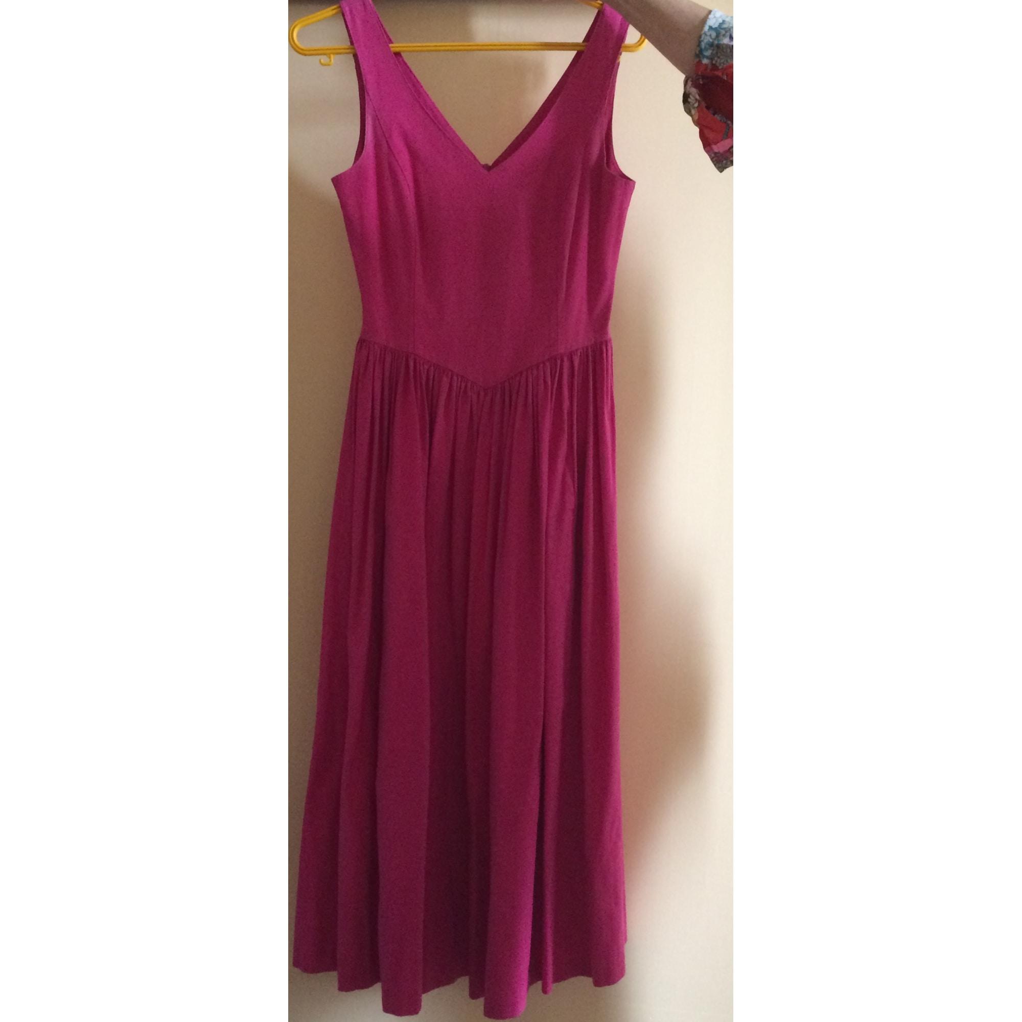 maxi kleid laura ashley 36 s t1 pink 3528927. Black Bedroom Furniture Sets. Home Design Ideas