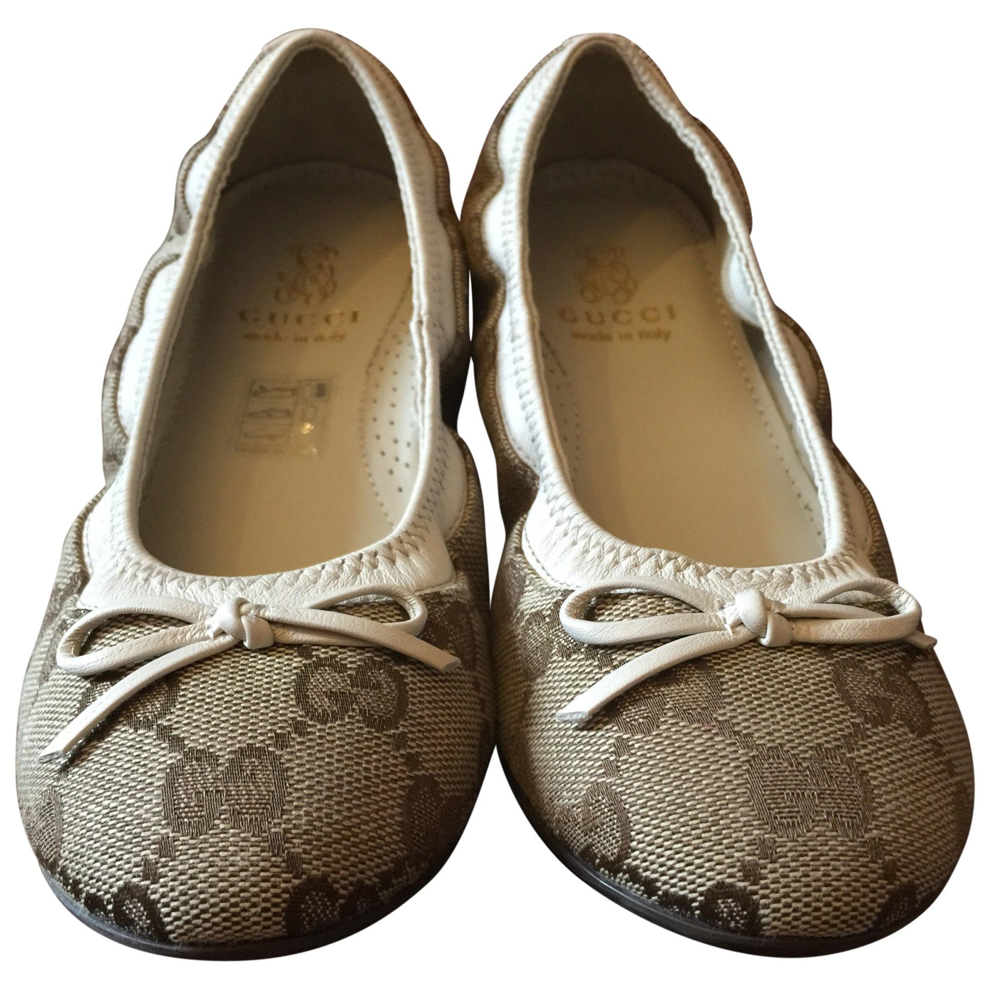 97853a450 Ballet Flats GUCCI 32 beige vendu par Nal - 3534766