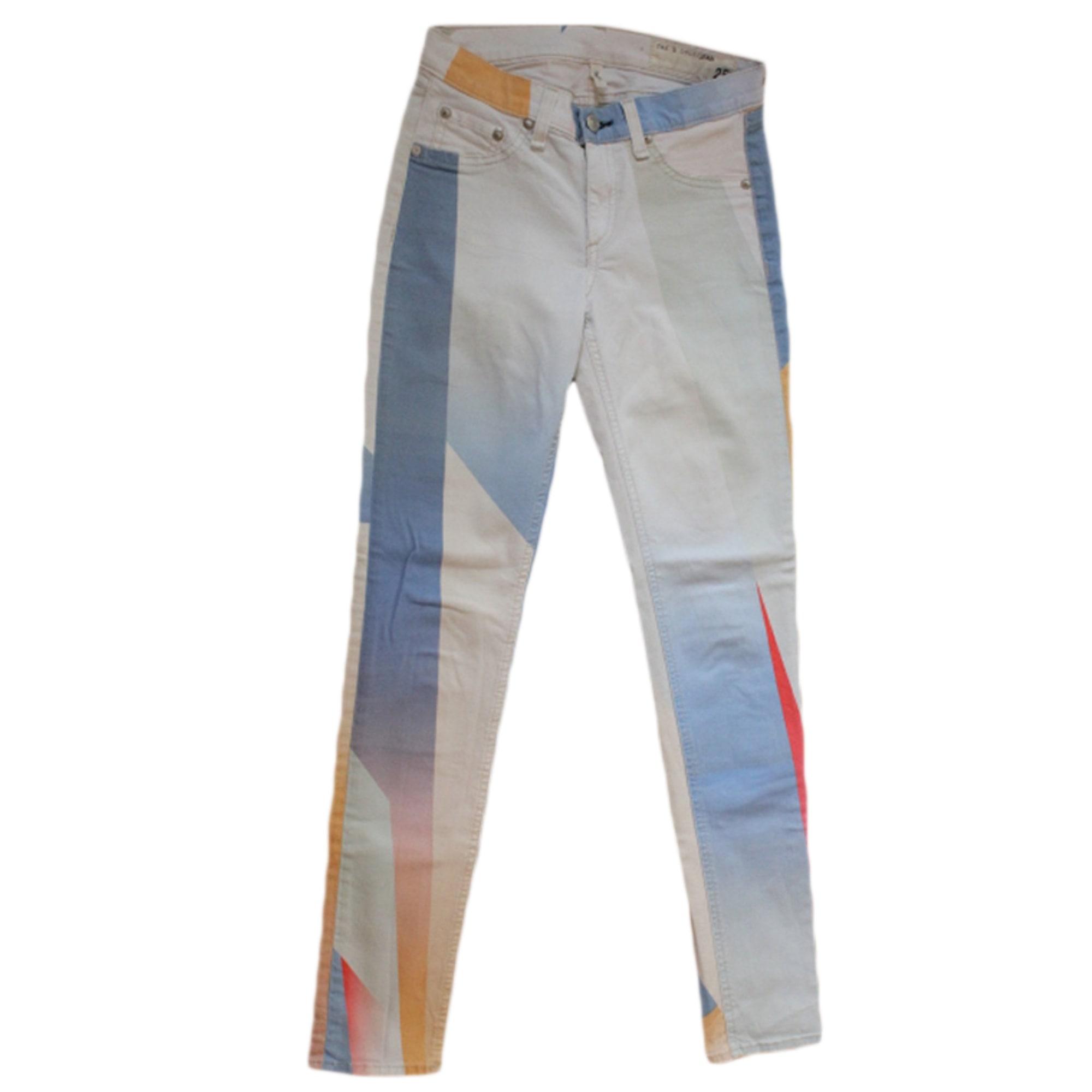 Jeans slim RAG   BONE W25 (T 34) multicouleur - 3538460 5d3c07e16245