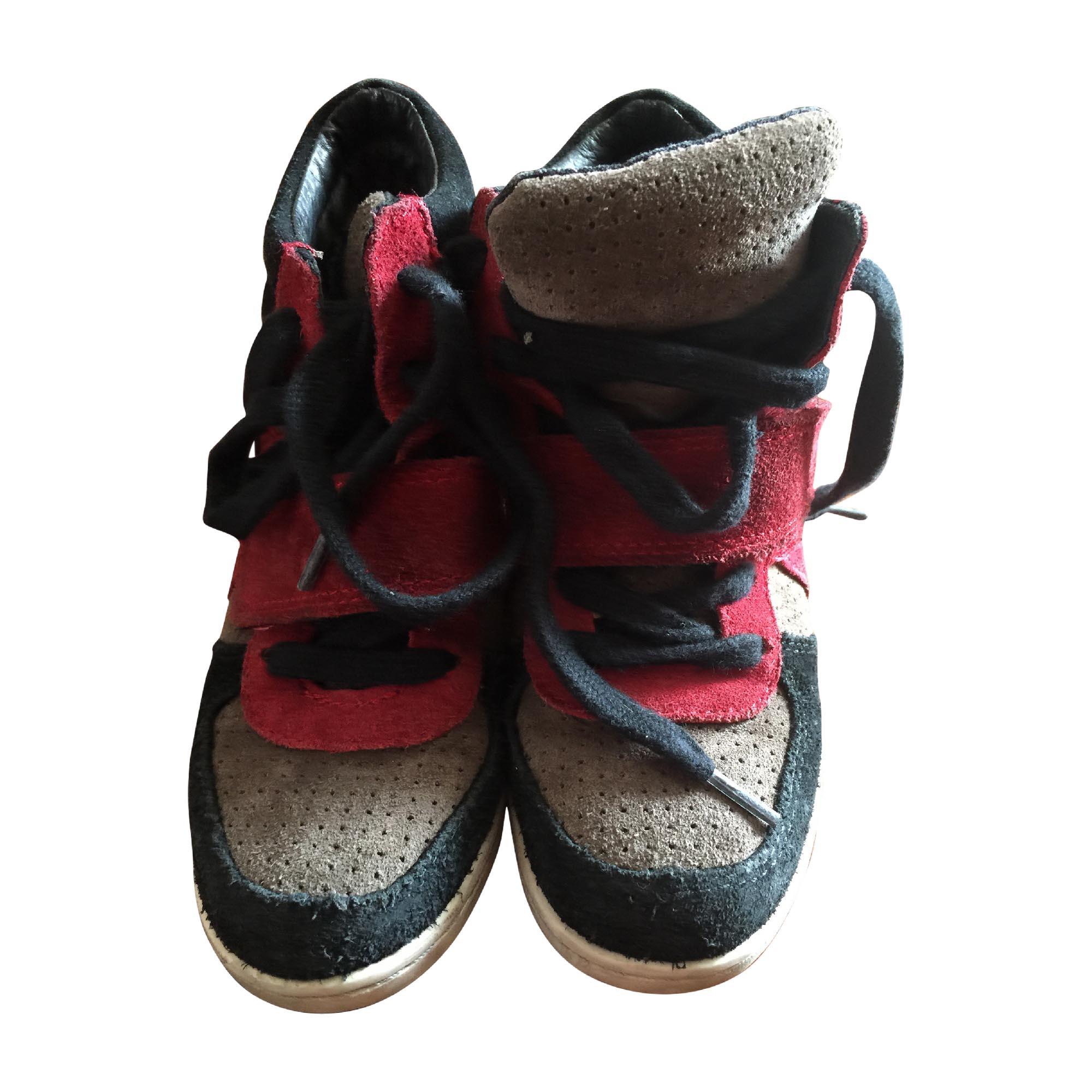 Lacets 3543650 Et 30 Ash Chaussures À Noir Rouge CqW4fwg1ng
