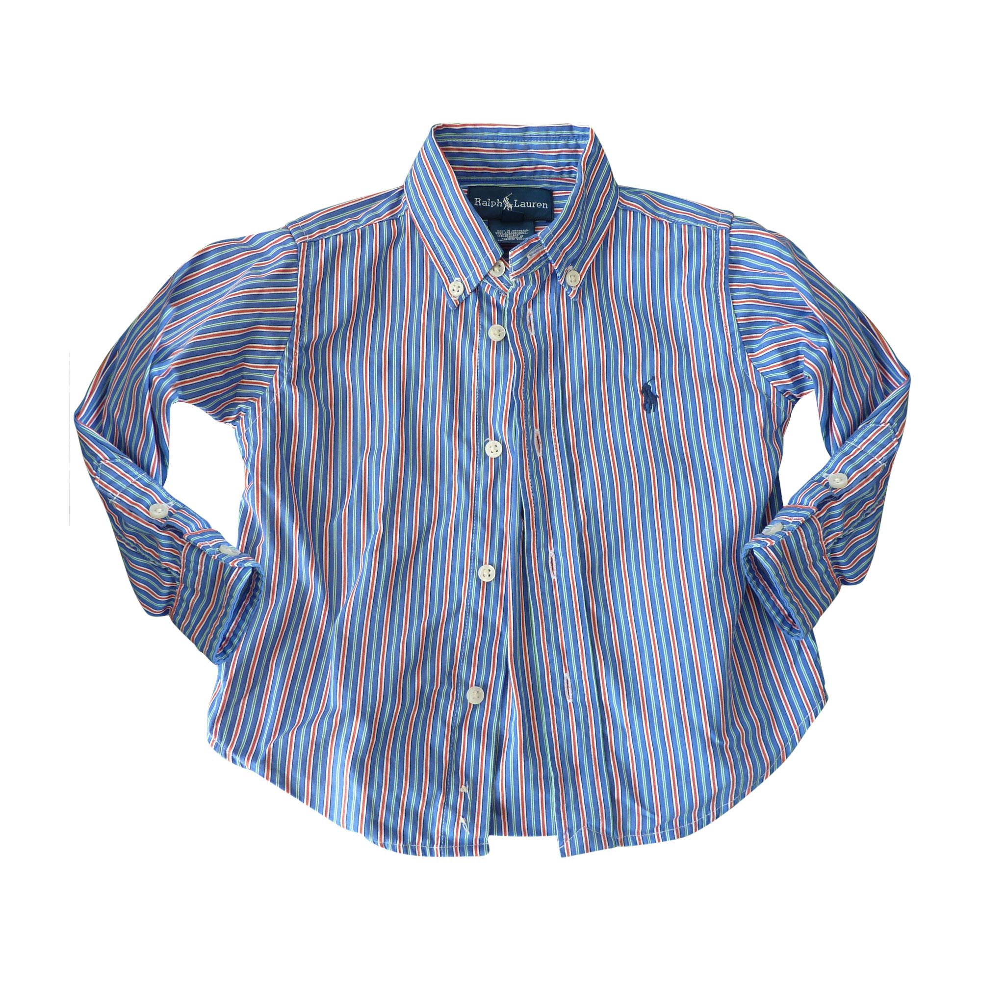 Shirt RALPH LAUREN bleu, rouge , blanc