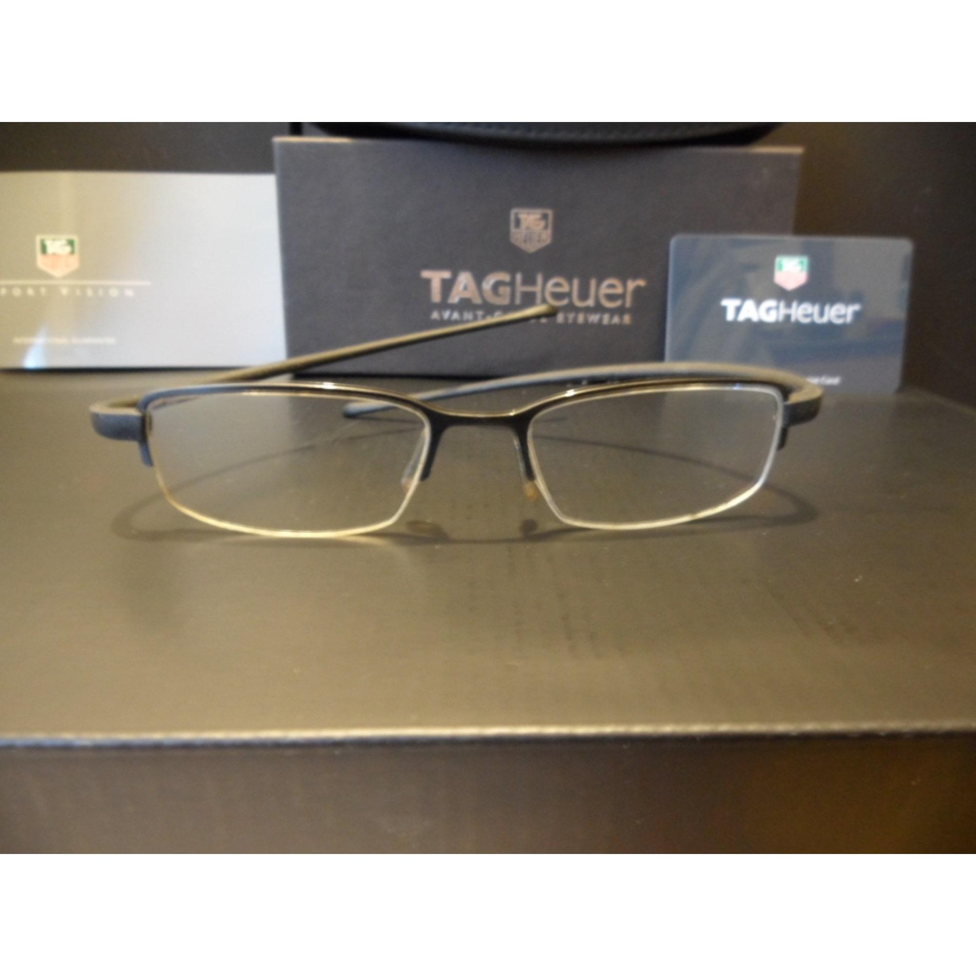 85850ade77 Monture de lunettes TAG HEUER noir vendu par Loews - 3557804