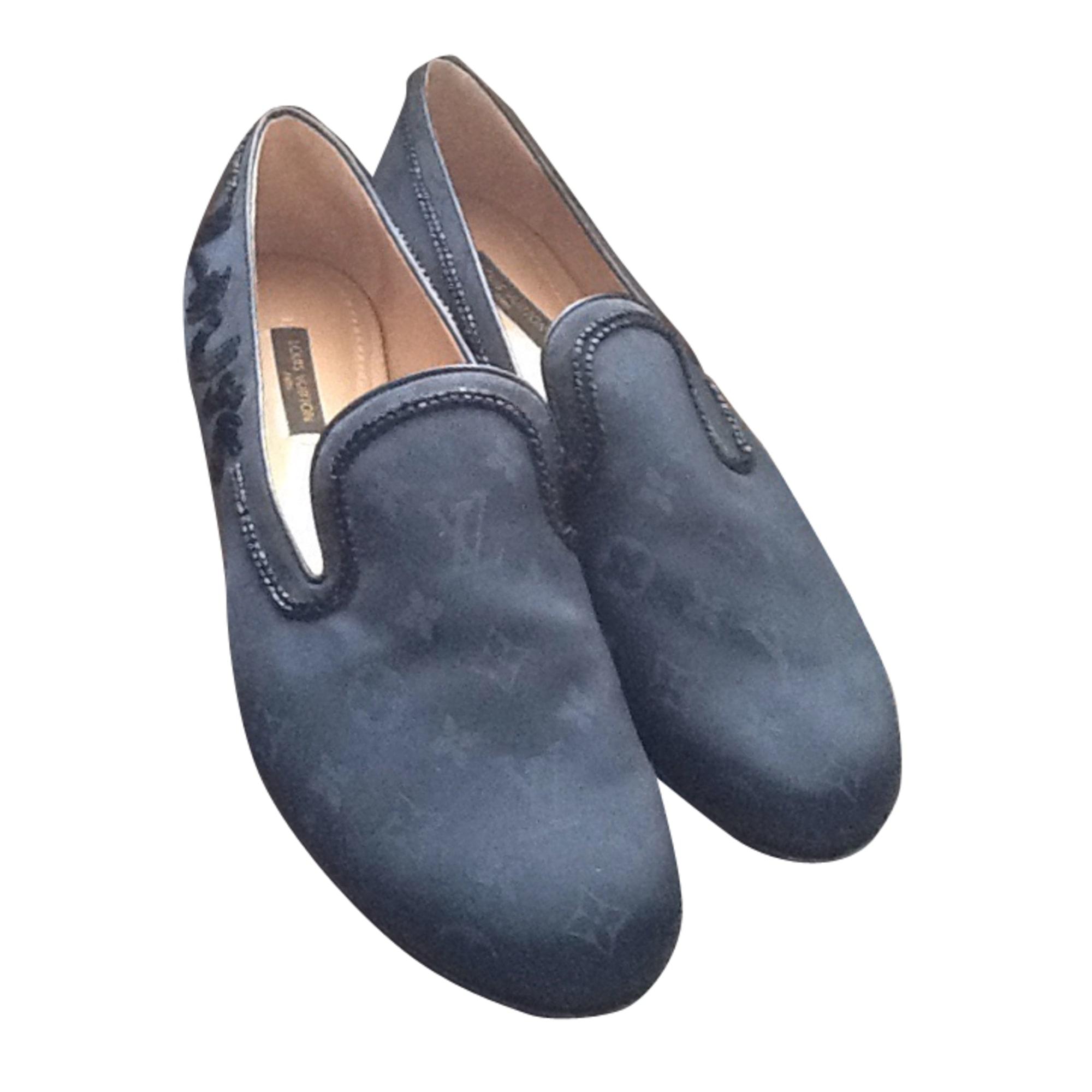 de0f82f83b7e Mocassins LOUIS VUITTON Bleu, bleu marine, bleu turquoise