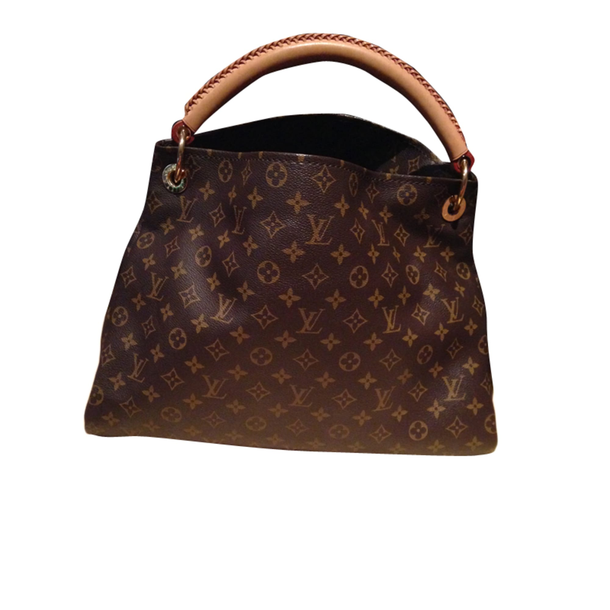b05f058ba30c Sac à main en cuir LOUIS VUITTON artsy marron vendu par Dora84 - 3574679