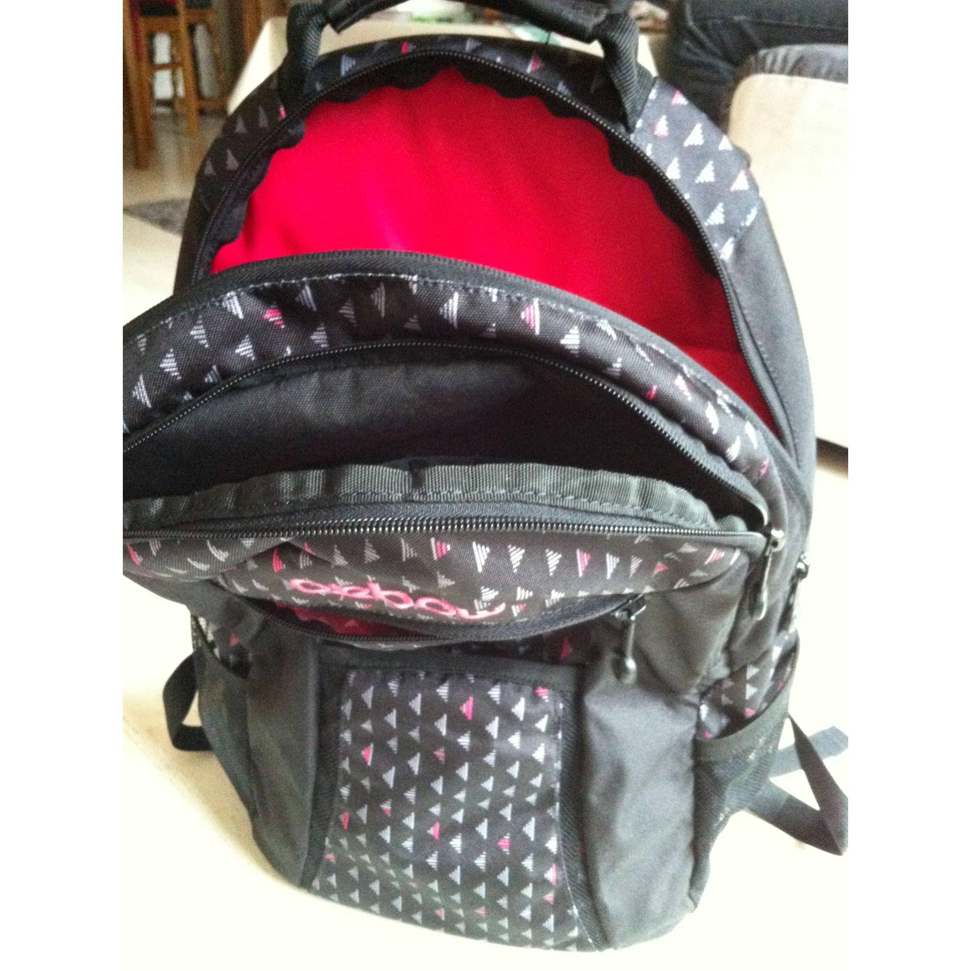bf64dc51a9 Sac à dos, cartable OXBOW noir vendu par Ladyscout - 3613734