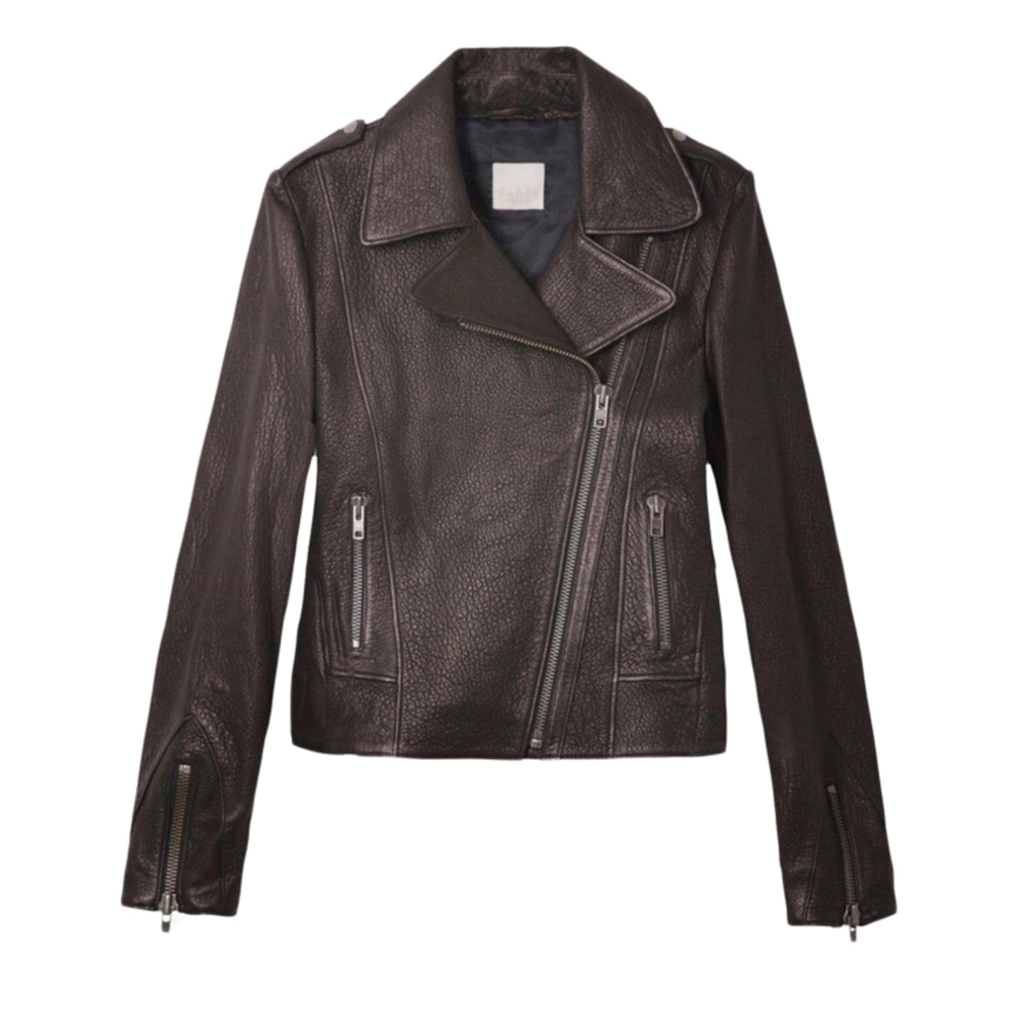 Veste en cuir PABLO DE GERARD DAREL 38 (M, T2) noir vendu par ... c6577efb8bec