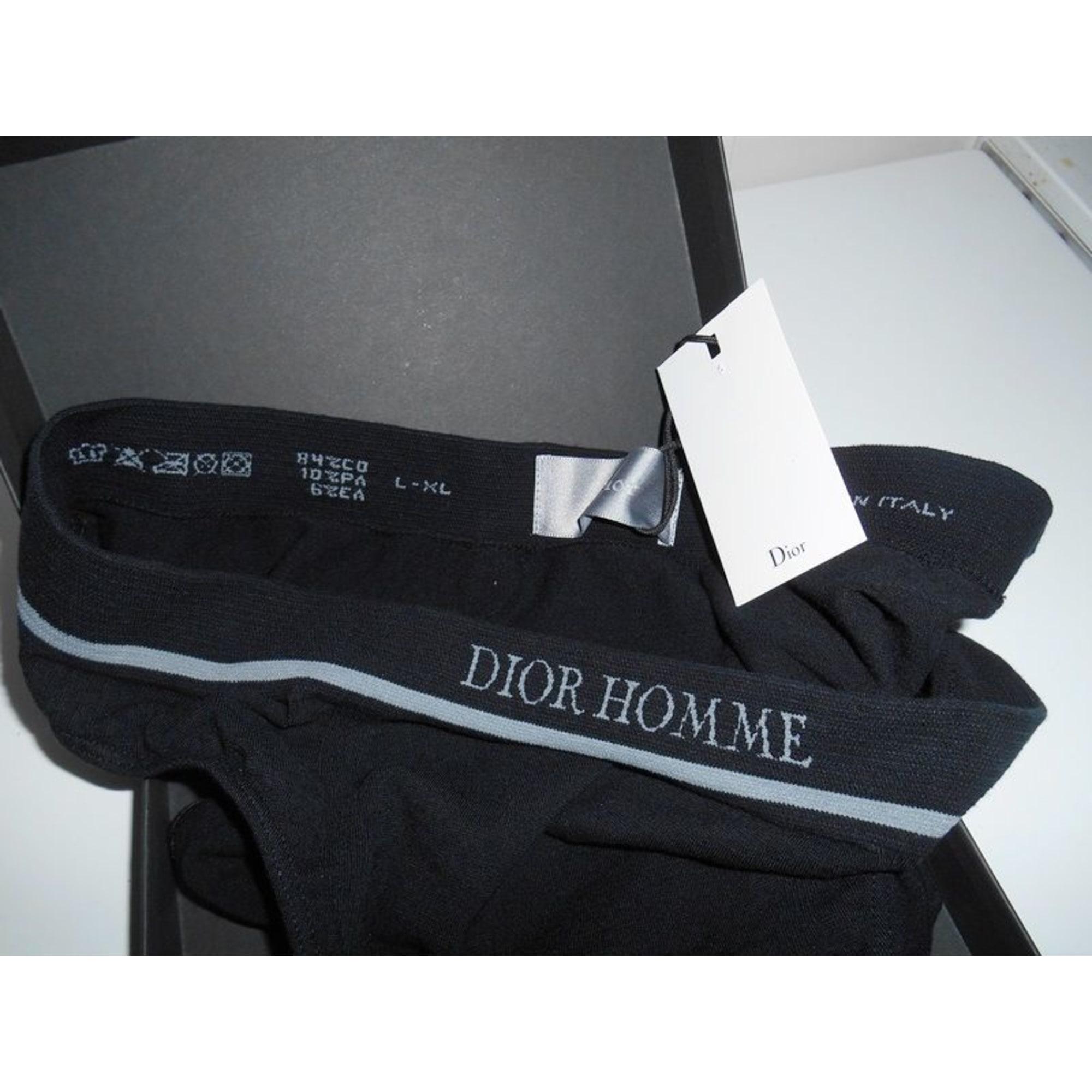 e71c6c82cebae1 Slip DIOR HOMME 3 (L) noir vendu par Mesz affaires(◡‿◡✿) - 3629266