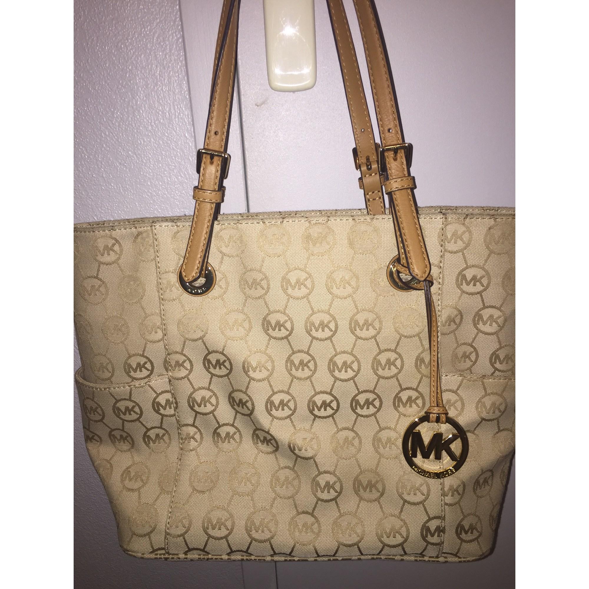 a4c8531737b1 Non-Leather Handbag MICHAEL KORS beige vendu par Melody84 - 3641081