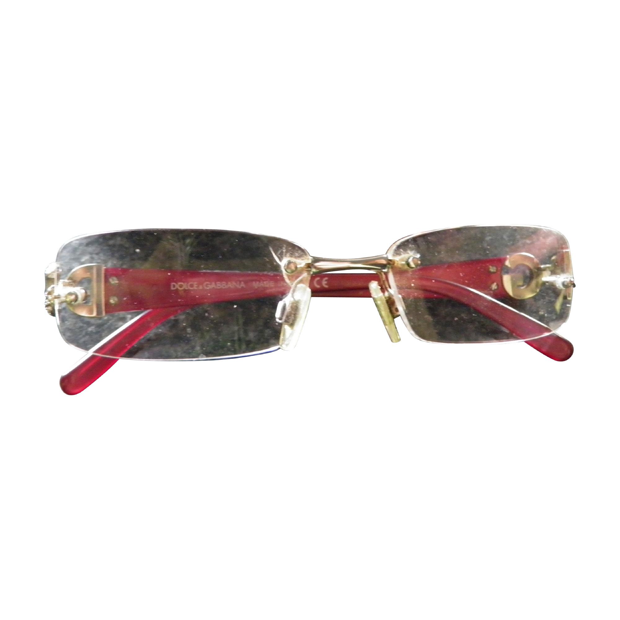 31cf0097f1c5e Monture de lunettes DOLCE   GABBANA rouge - 3651550