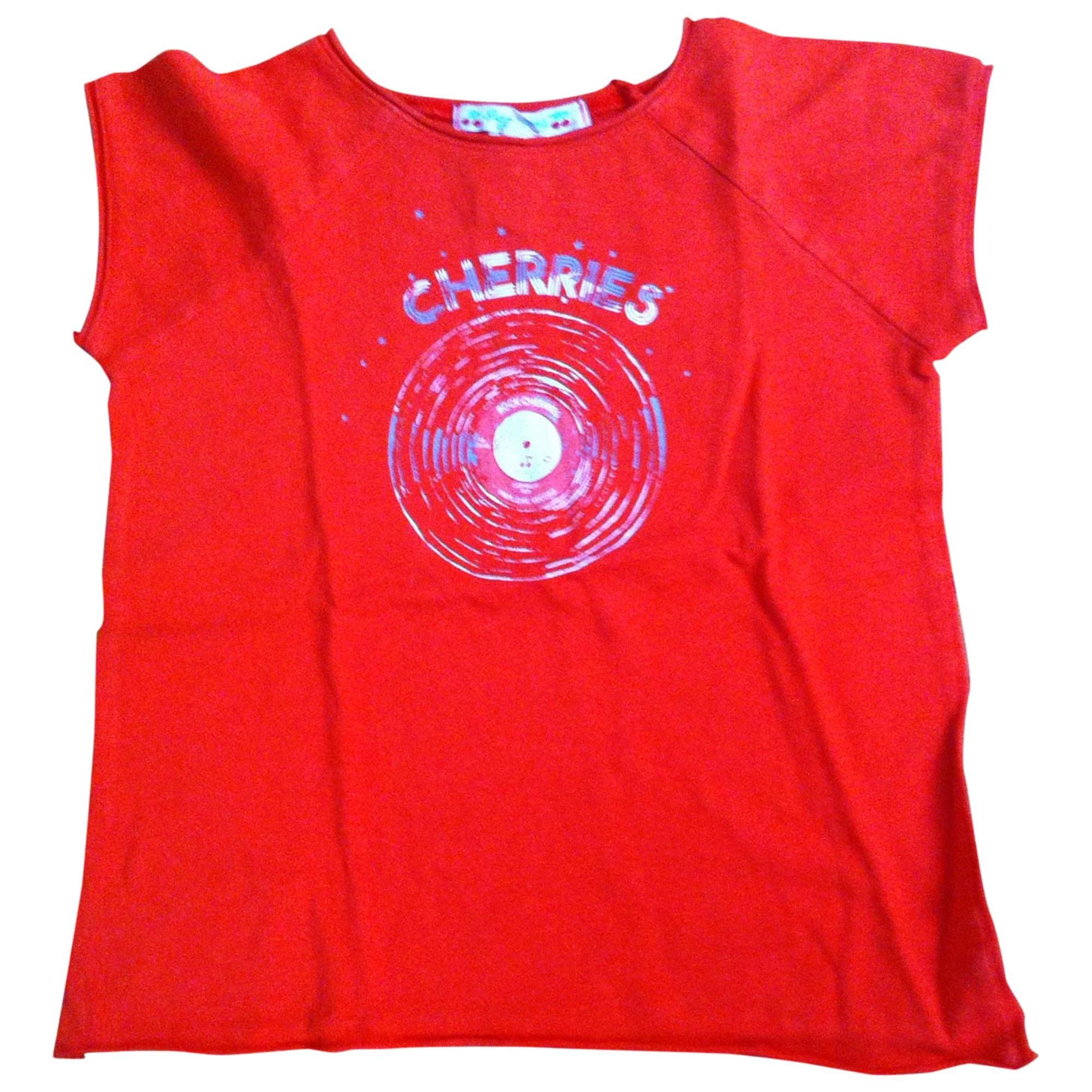 Top, Tee-shirt BONPOINT Rouge, bordeaux