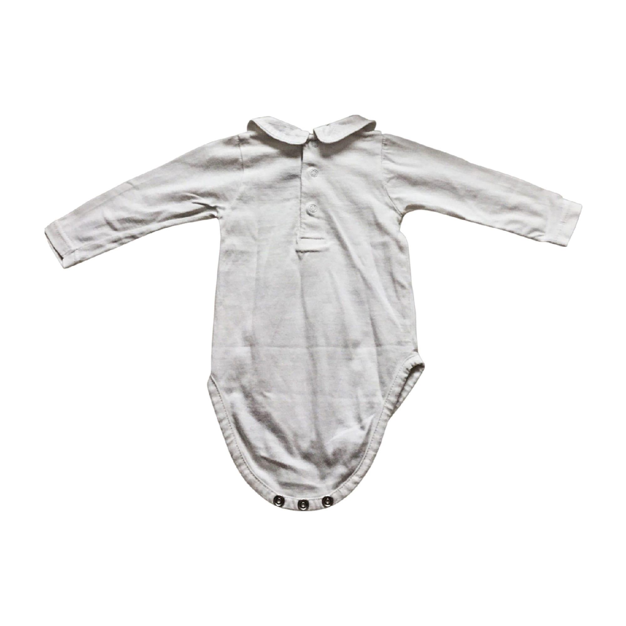 Body BABY DIOR Bianco, bianco sporco, ecru