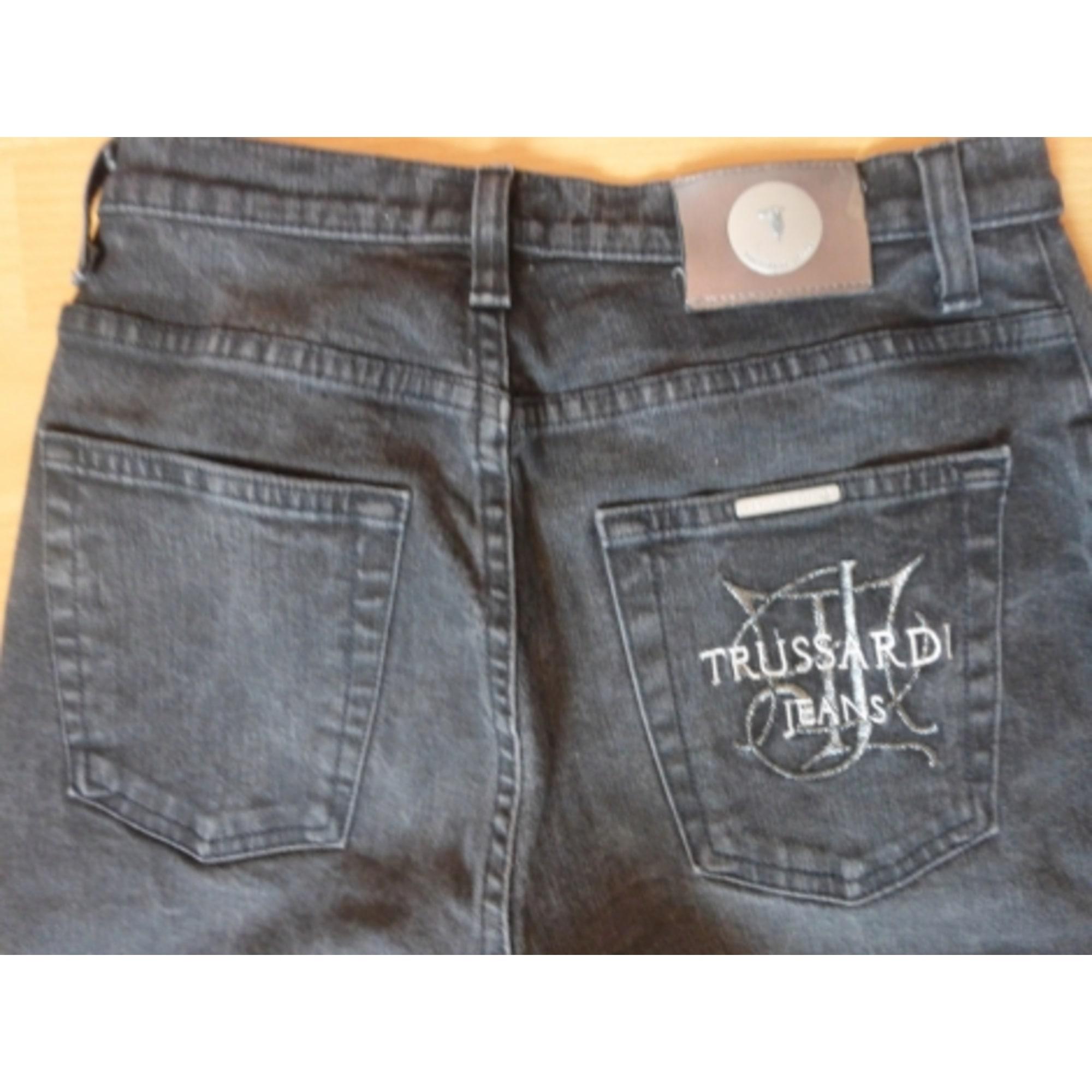 Jeans droit TRUSSARDI JEANS Noir