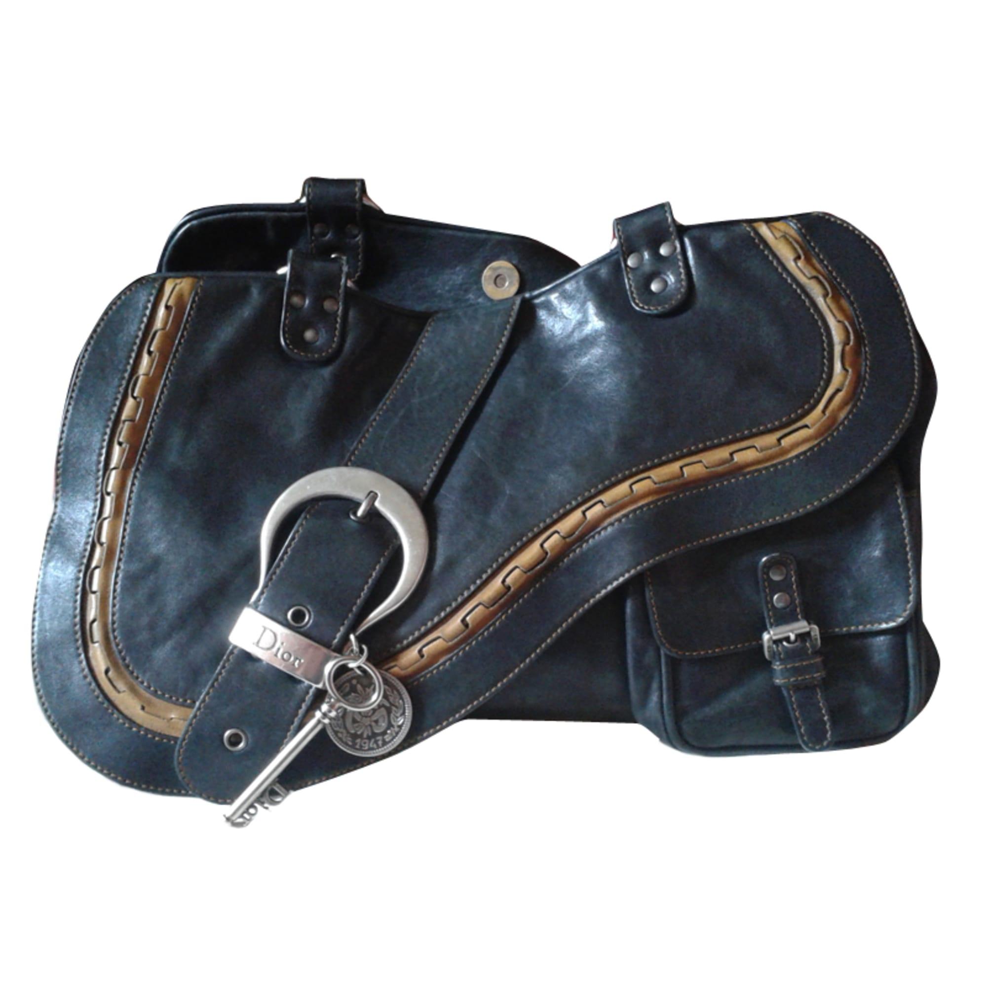 727ea24b6a Sac à main en cuir DIOR gaucho noir vendu par Léa569210 - 3669369