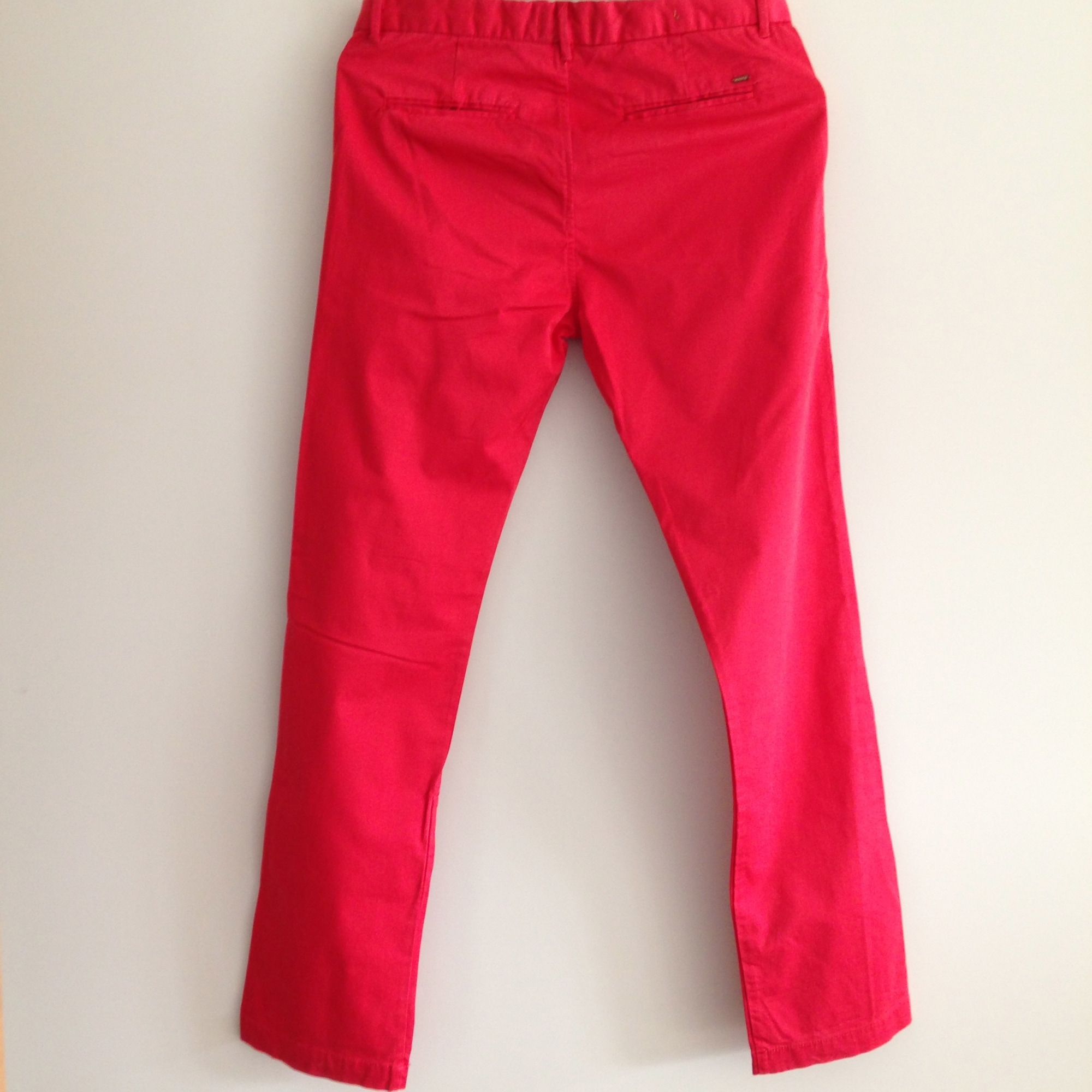 Pantalon SCOTCH SHRUNK Rouge, bordeaux