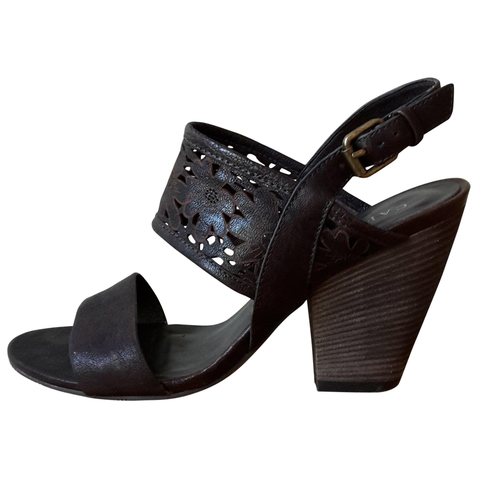 Sandales à talons CAFE NOIR Marron