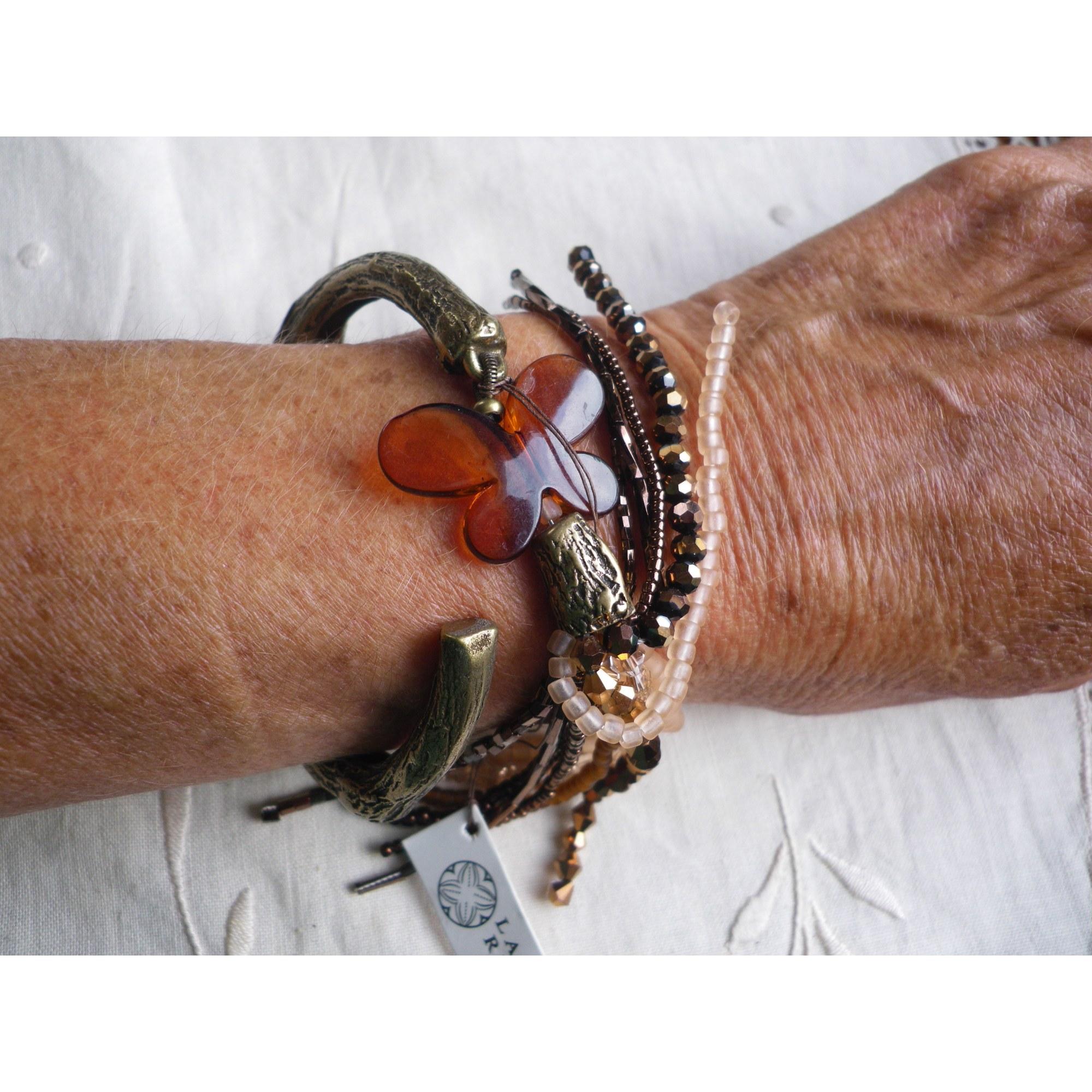 Bracelet LA TRIBU RIGAUX cuivre doré