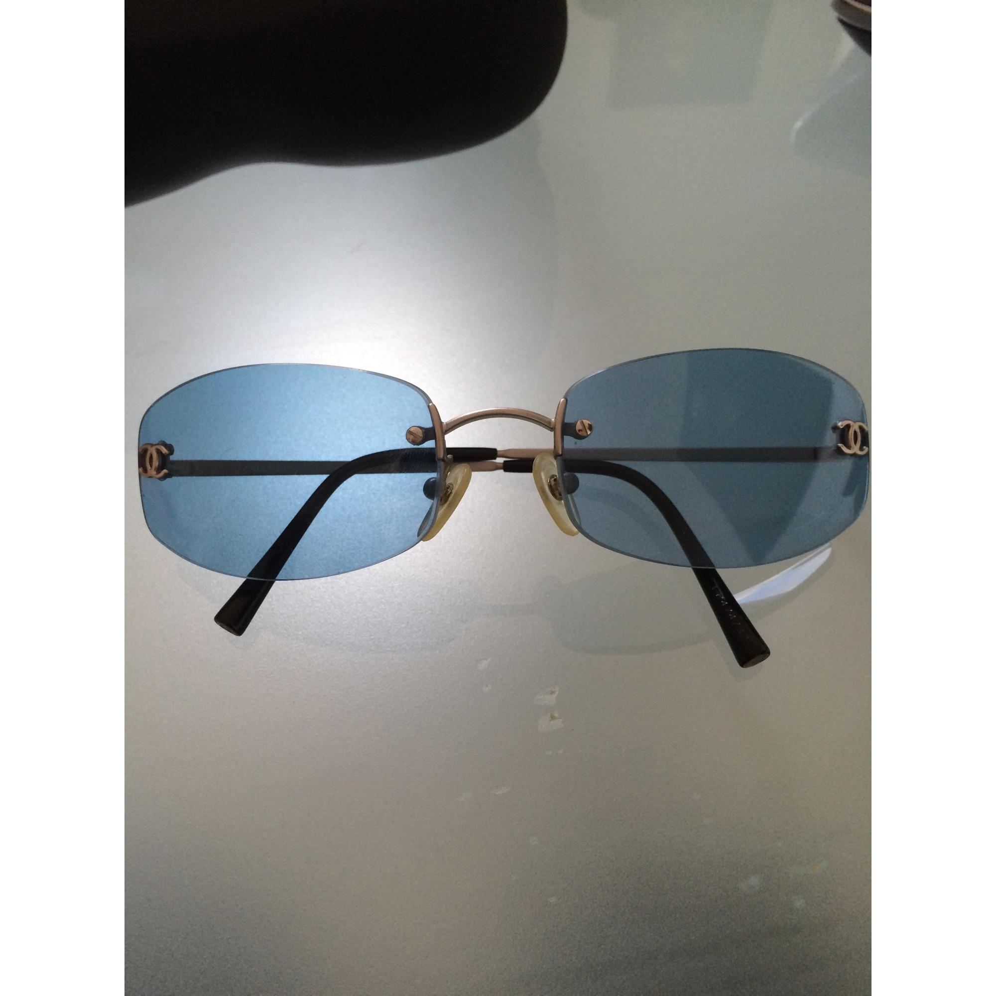 Lunettes de soleil CHANEL bleu vendu par Charlotte129856 - 3691429 91c815a94b6b