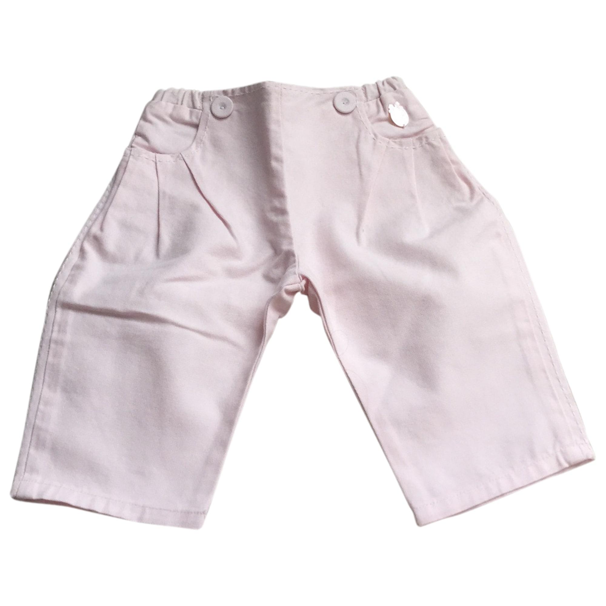 Pantalone BABY DIOR Rosa, fucsia, rosa antico