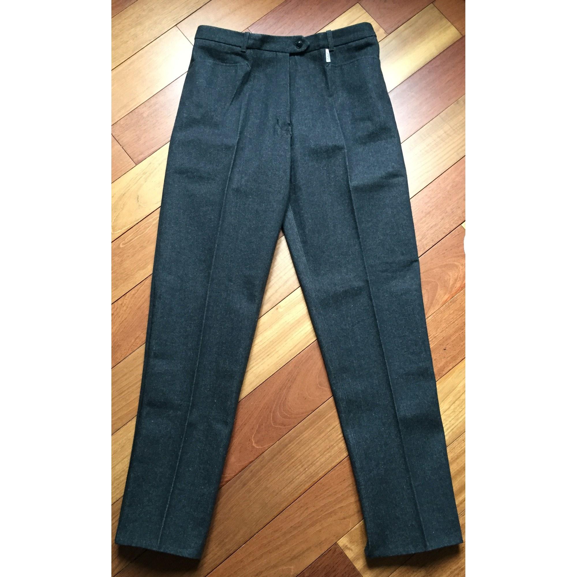 7a93d488d231 Pantalon slim, cigarette LES INDIENNES DE NÎMES 42 (L XL, T4) noir ...