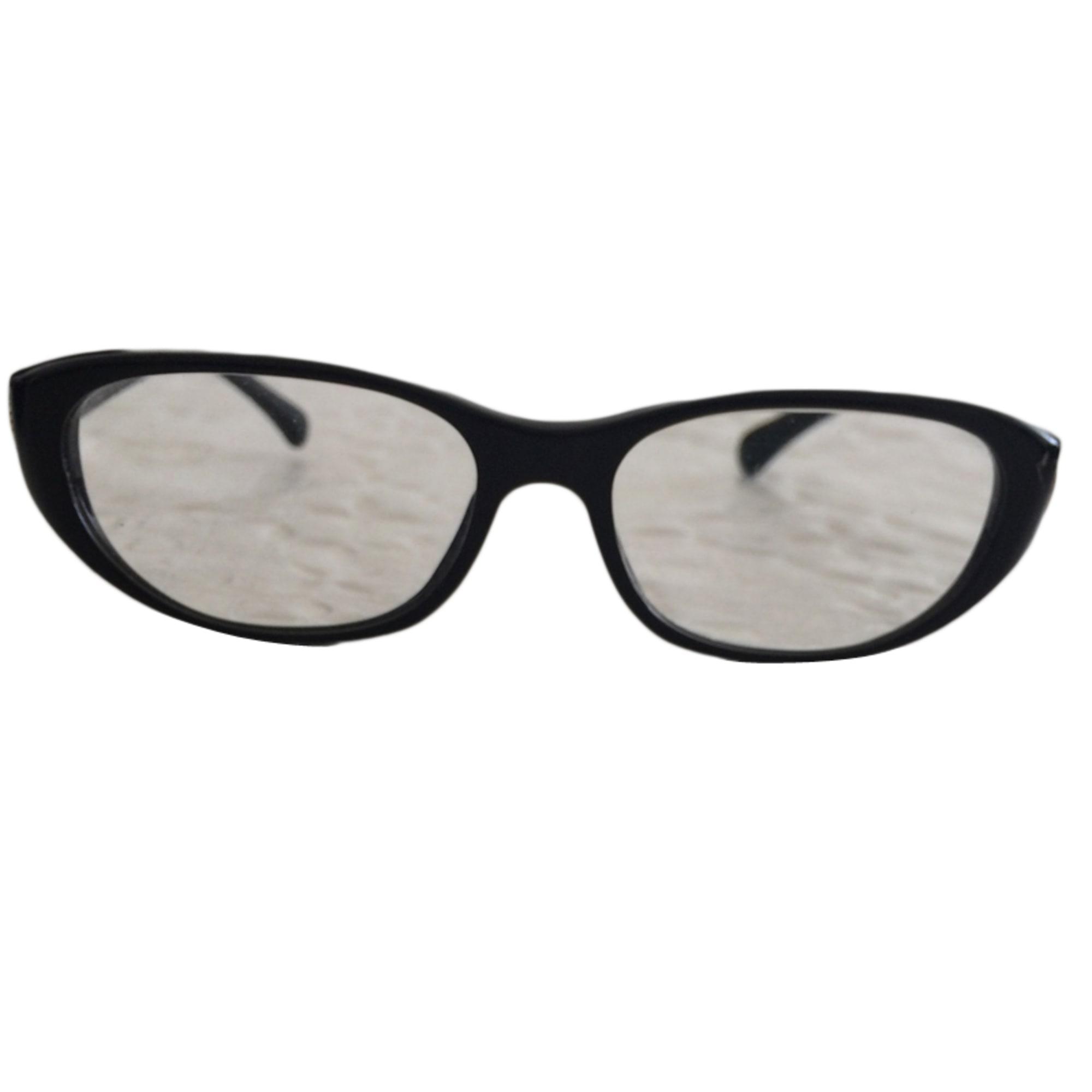 eyeglass frames chanel black 3720573
