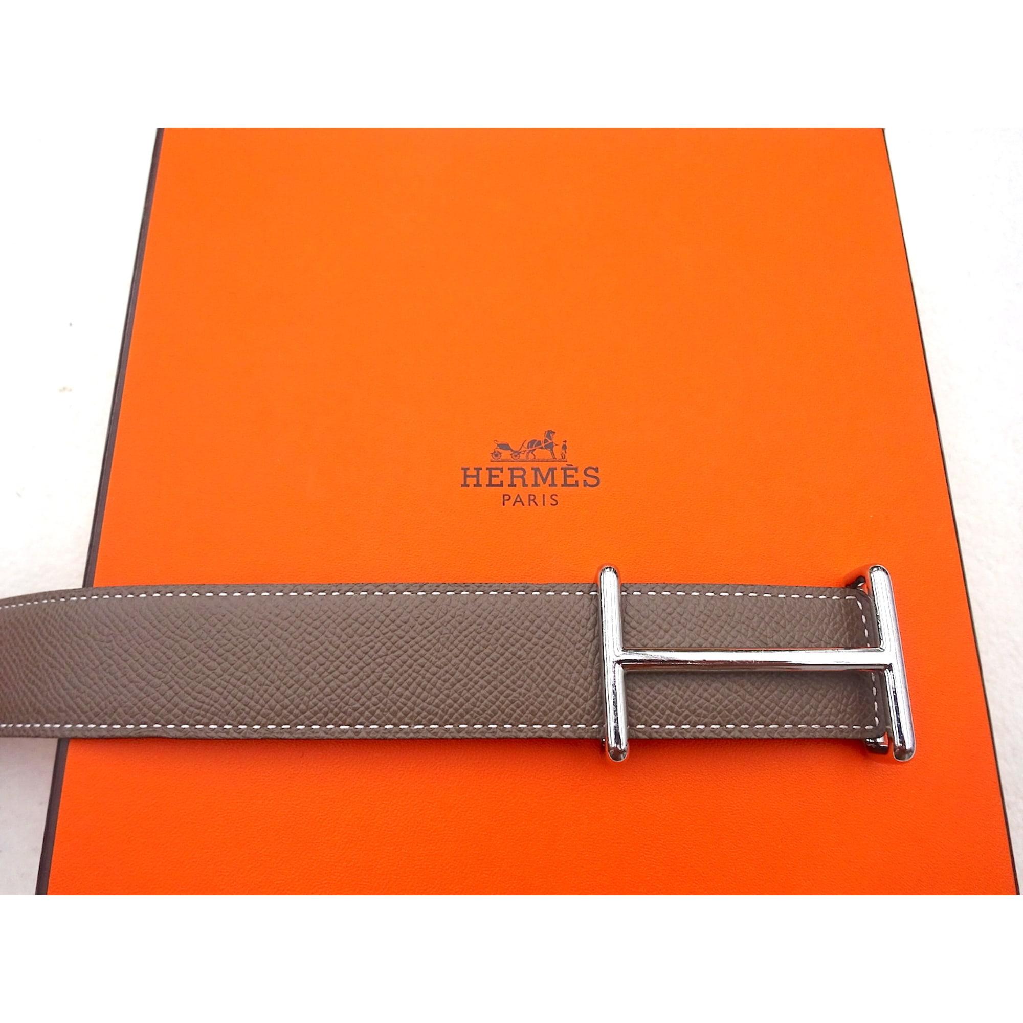 hermes cintura  Cintura HERMÈS 90 beige vendu par M.® - 3755920