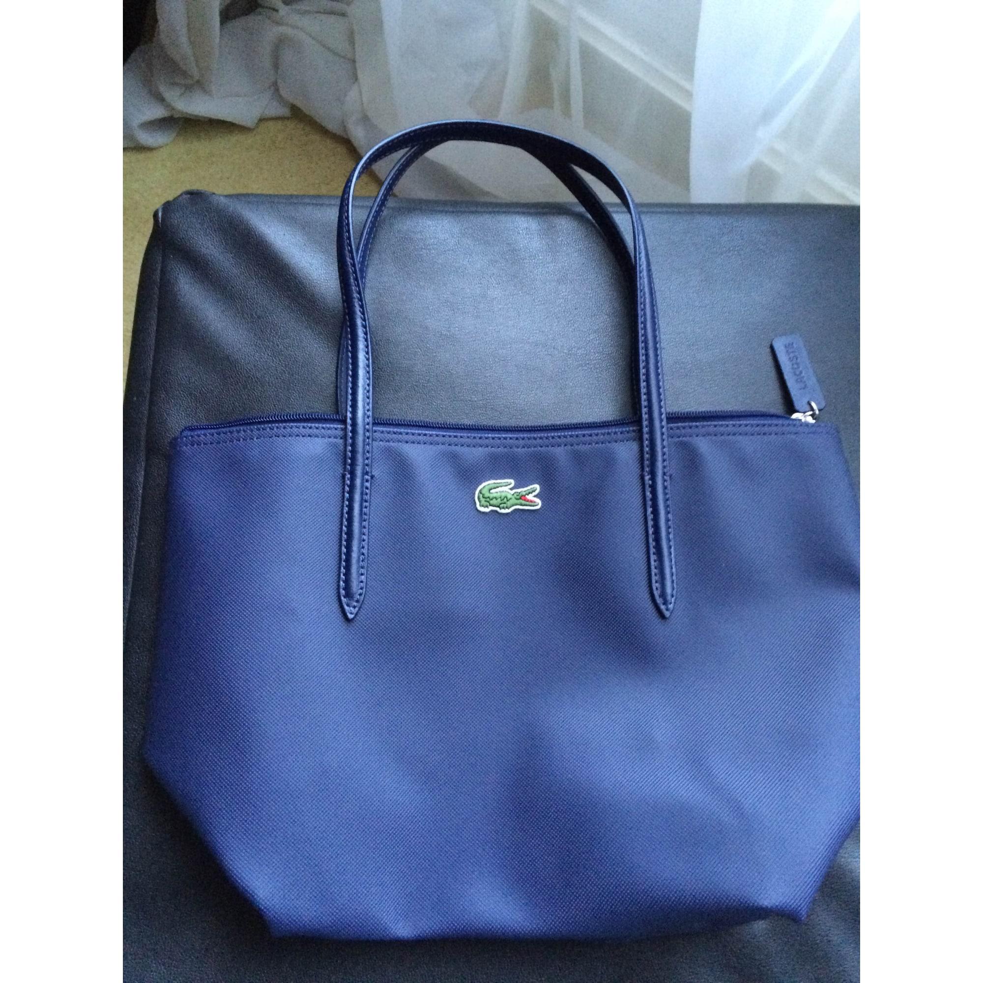 c931c153c1 Sac à main en cuir LACOSTE Bleu, bleu marine, bleu turquoise