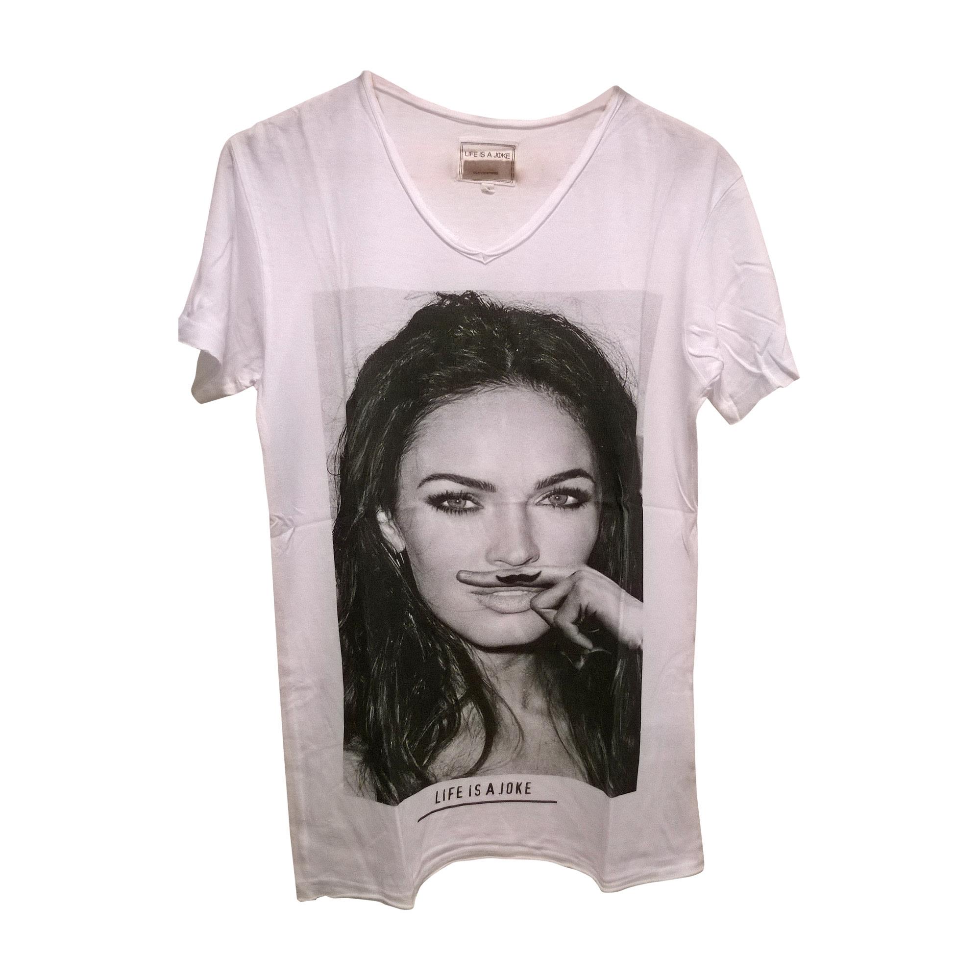Tee-shirt ELEVEN PARIS 1 (S) blanc - 3768