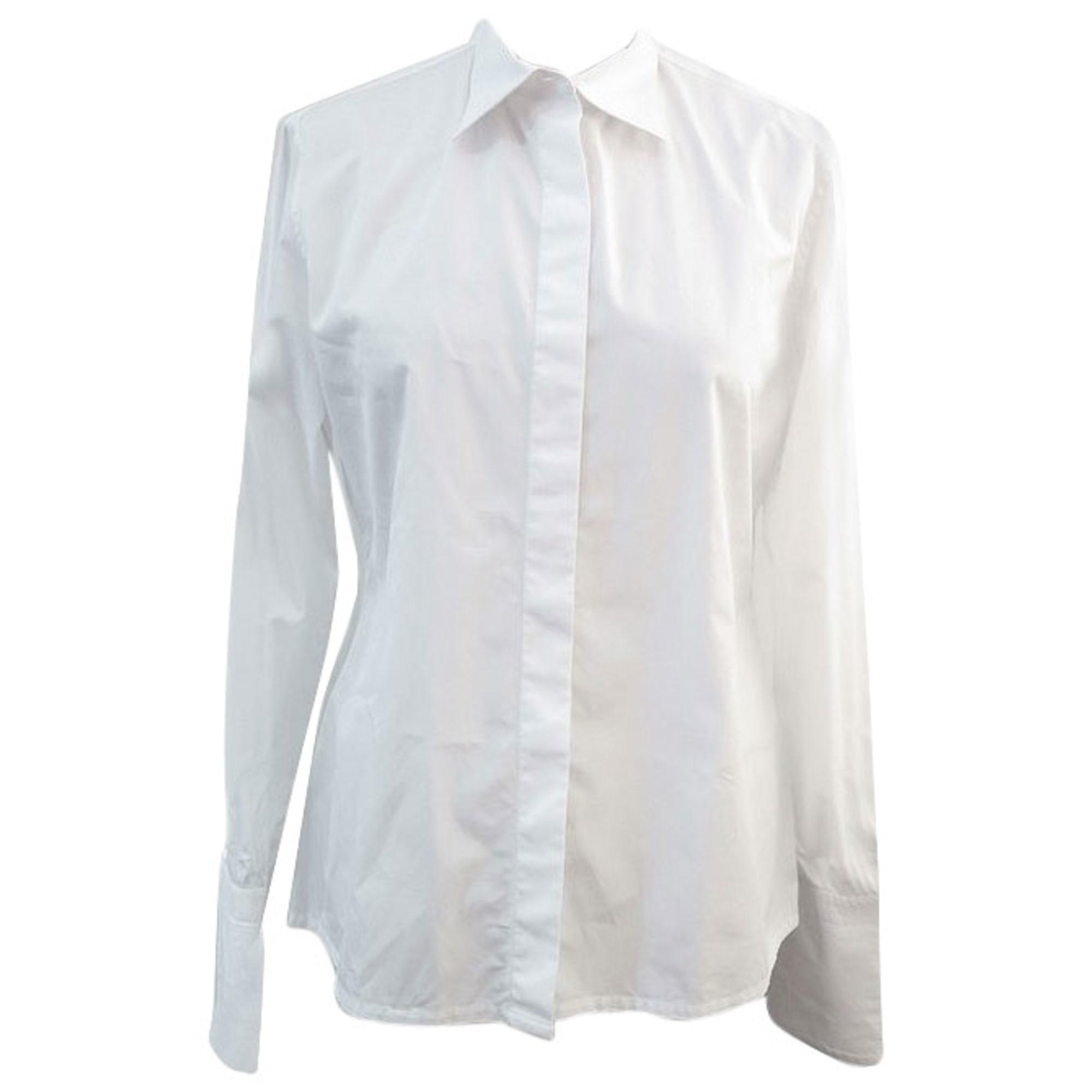 Coton Chemise Coton Charvet Chemise Femme Blanc fb76mIgYyv