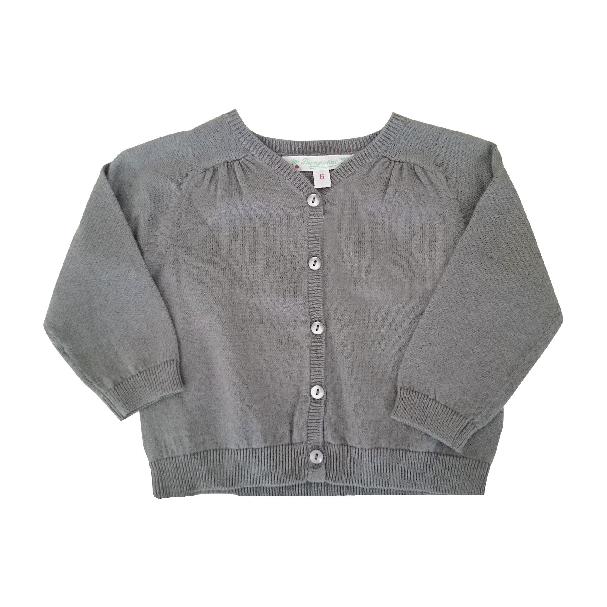 Vest, Cardigan BONPOINT Khaki