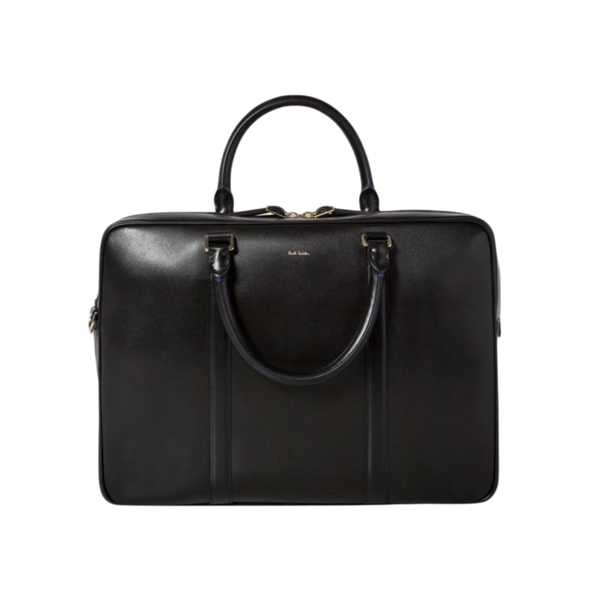 Porte document, serviette PAUL SMITH cuir noir