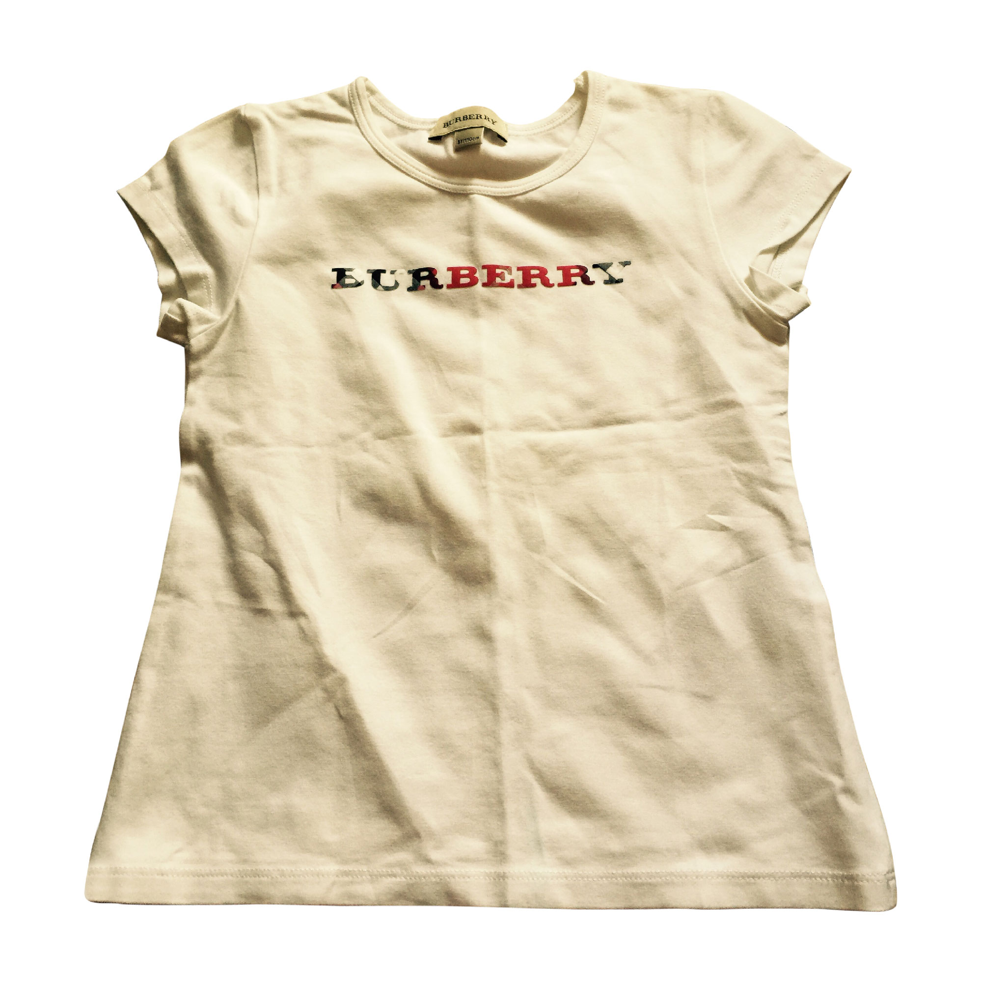 68d8c3884ce0 Top, Tee-shirt BURBERRY Blanc, blanc cassé, écru