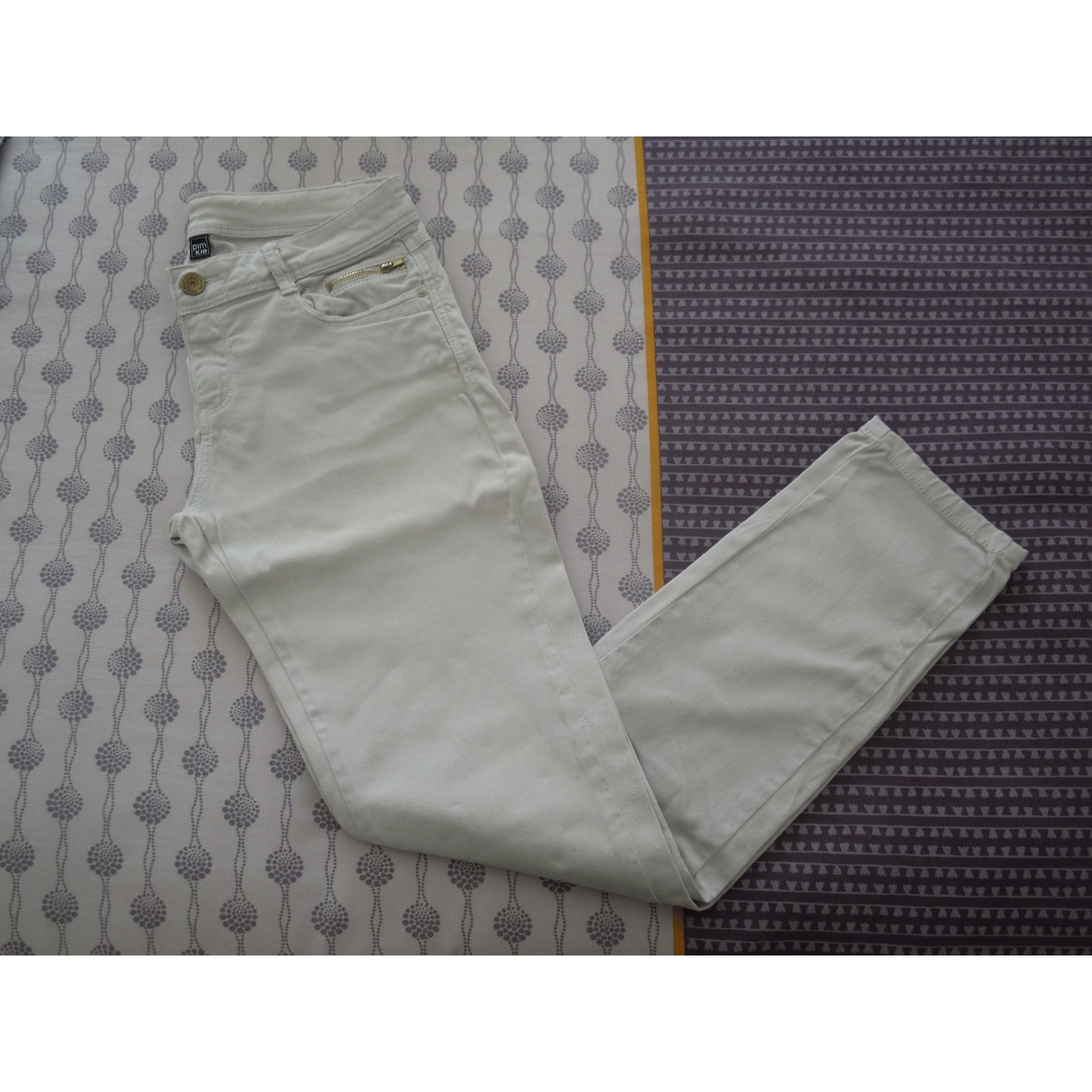 Pantalon slim, cigarette PIMKIE 36 (S, T1) gris - 3794105 ff01ed1a3819