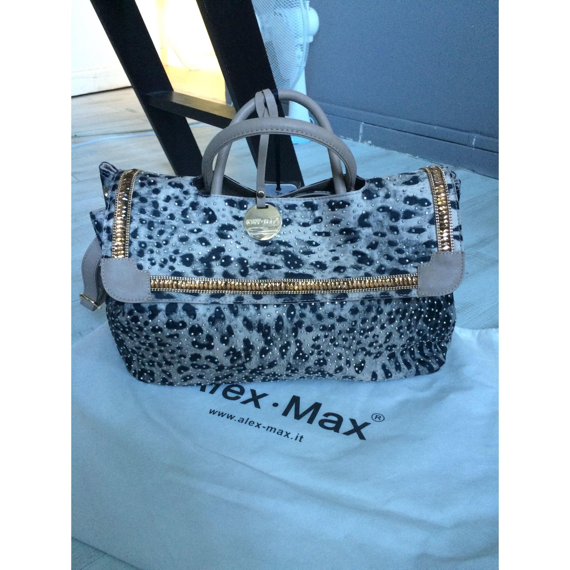 6d1a3f6c6070e Borsa XL in tessuto ALEX MAX beige coffe black - 3826626