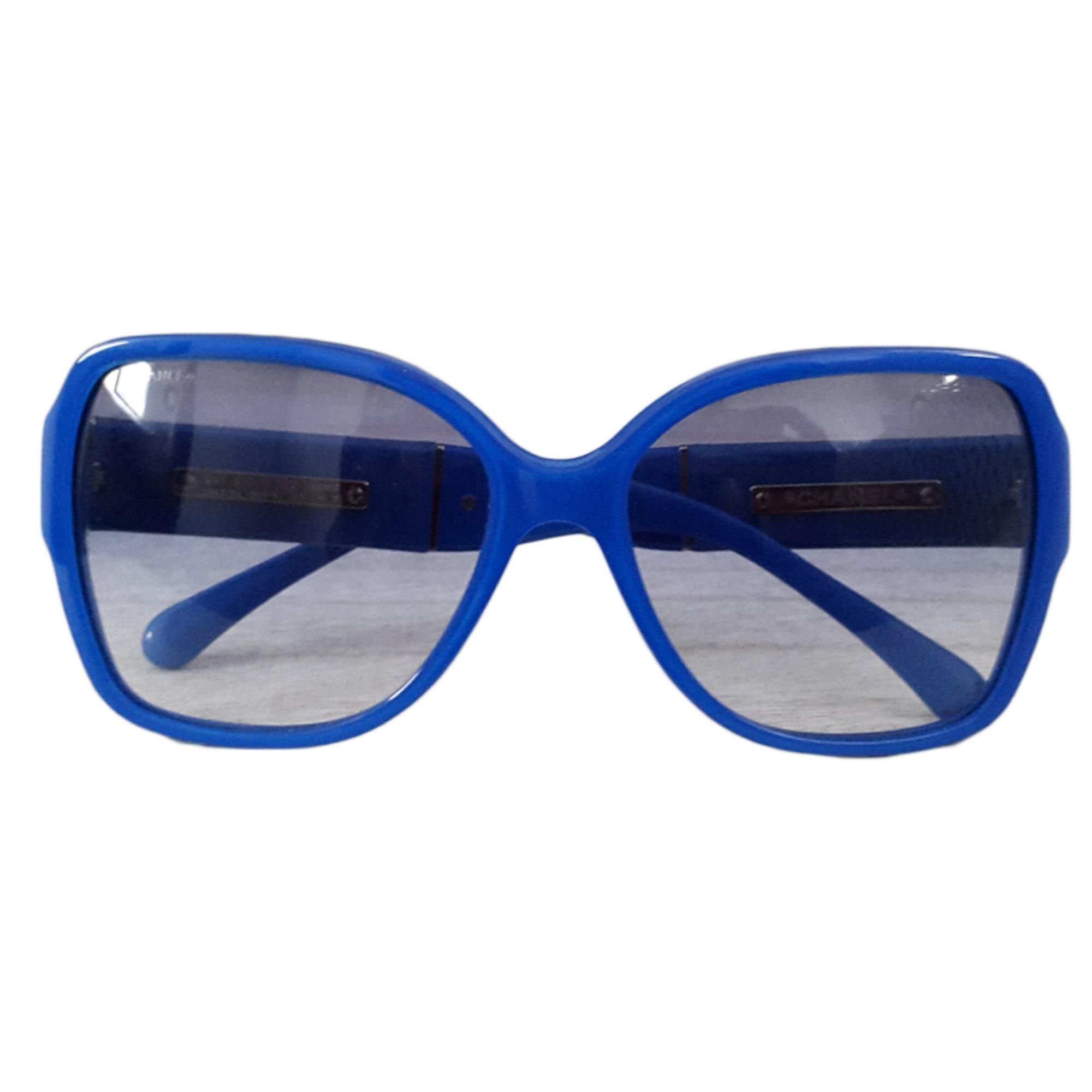 Lunettes de soleil CHANEL bleu vendu par Charlène 145523283 - 3830042 42553fddfc53