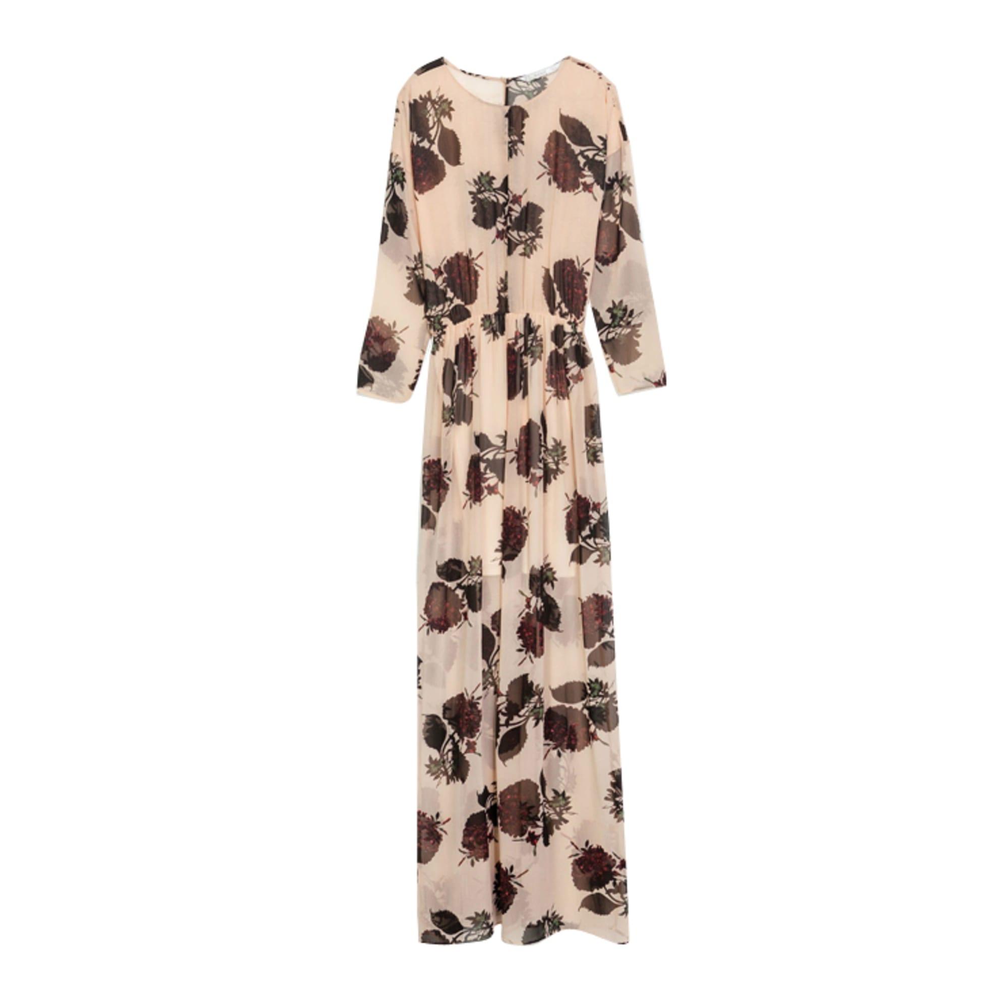ab1ffaf5 Maxi Dress ZARA Pink, fuchsia, light pink