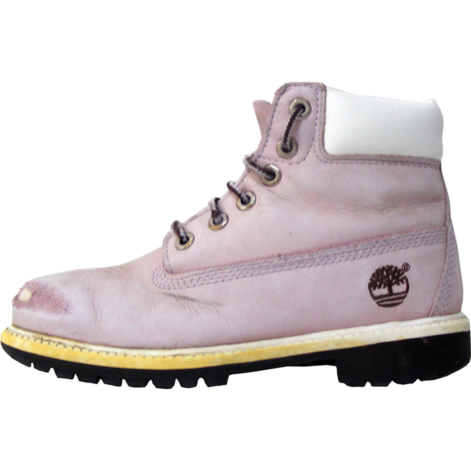 3b330d57e34 Chaussures à lacets TIMBERLAND 33 rose - 3850159