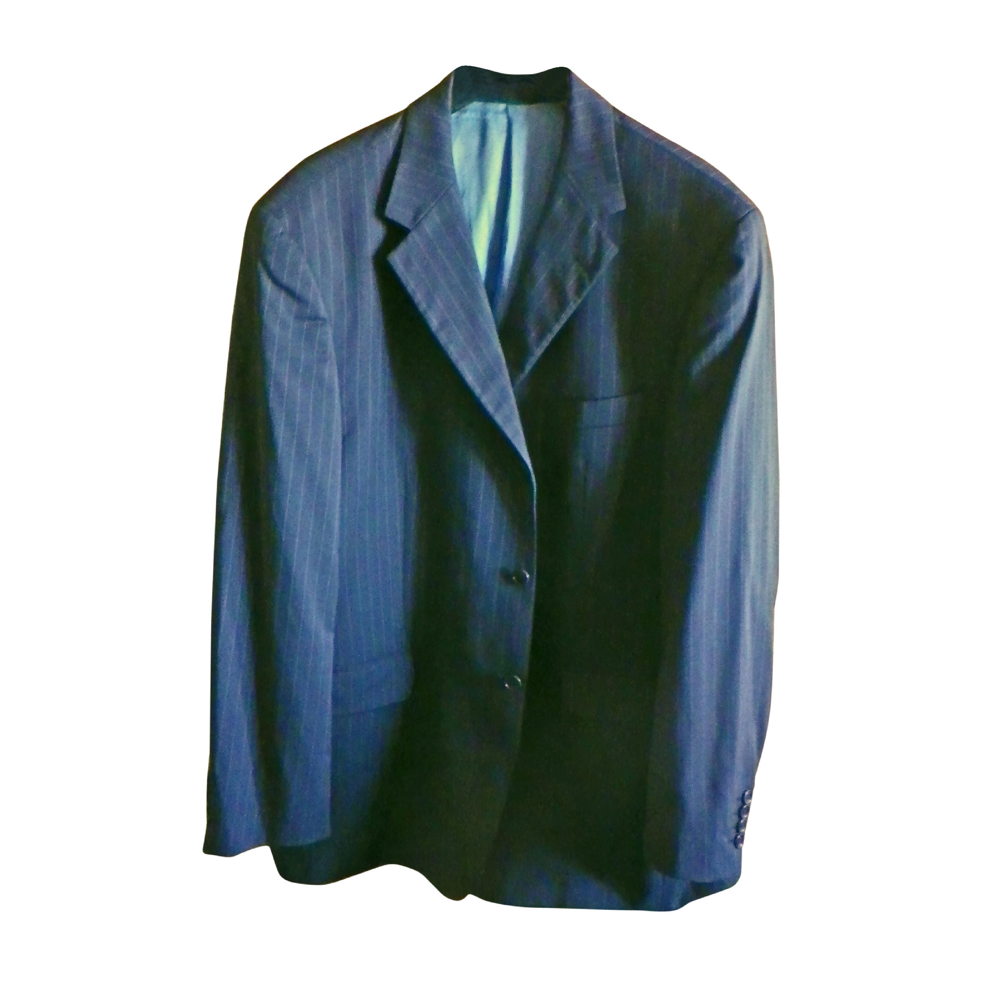 Veste BALMAIN Bleu, bleu marine, bleu turquoise