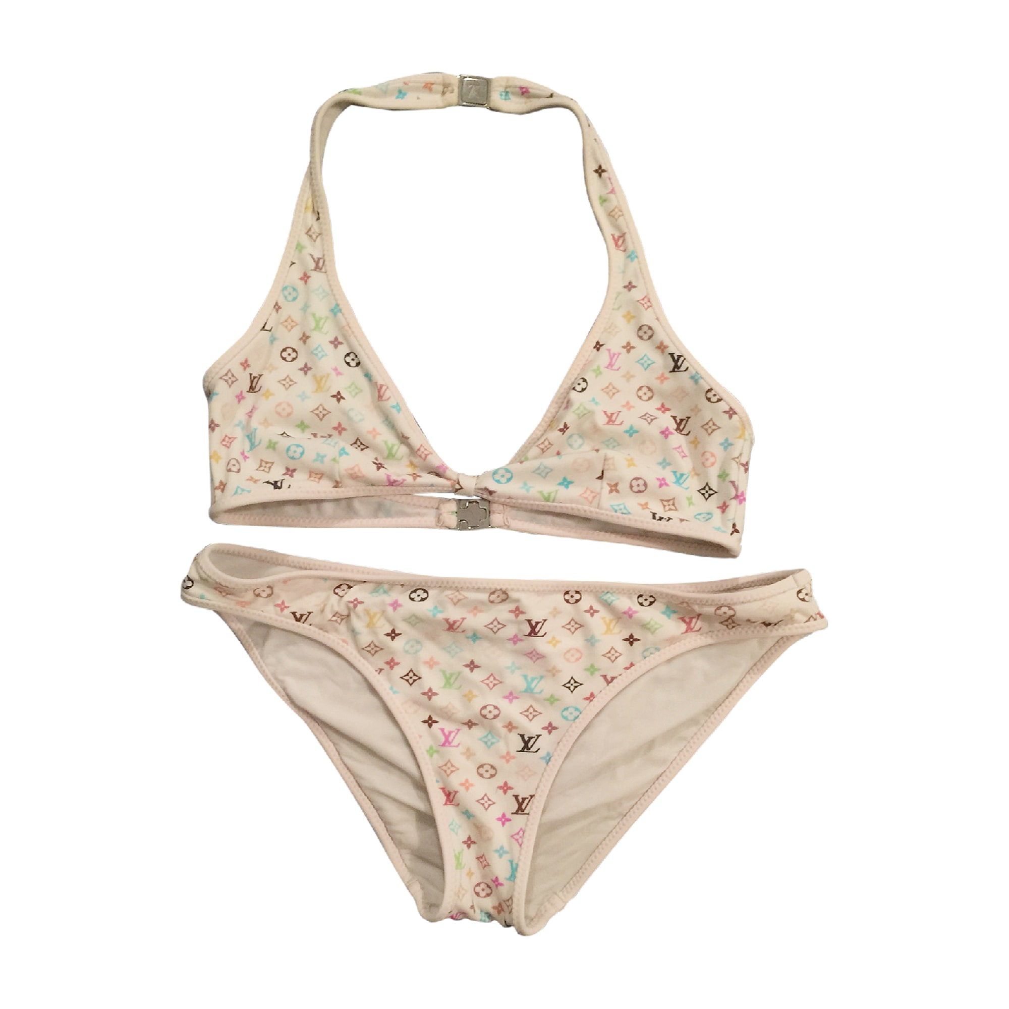6d8ea7e3765b6 Two Piece Swimsuit LOUIS VUITTON 36 (S, T1) multicolor - 3856229