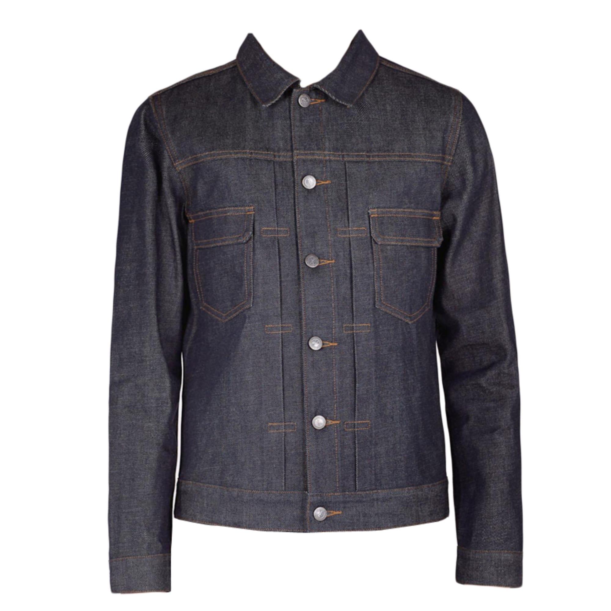 5ba22738db1a Veste en jean APC 50 (M) indigo vendu par Pure246602 - 3862168