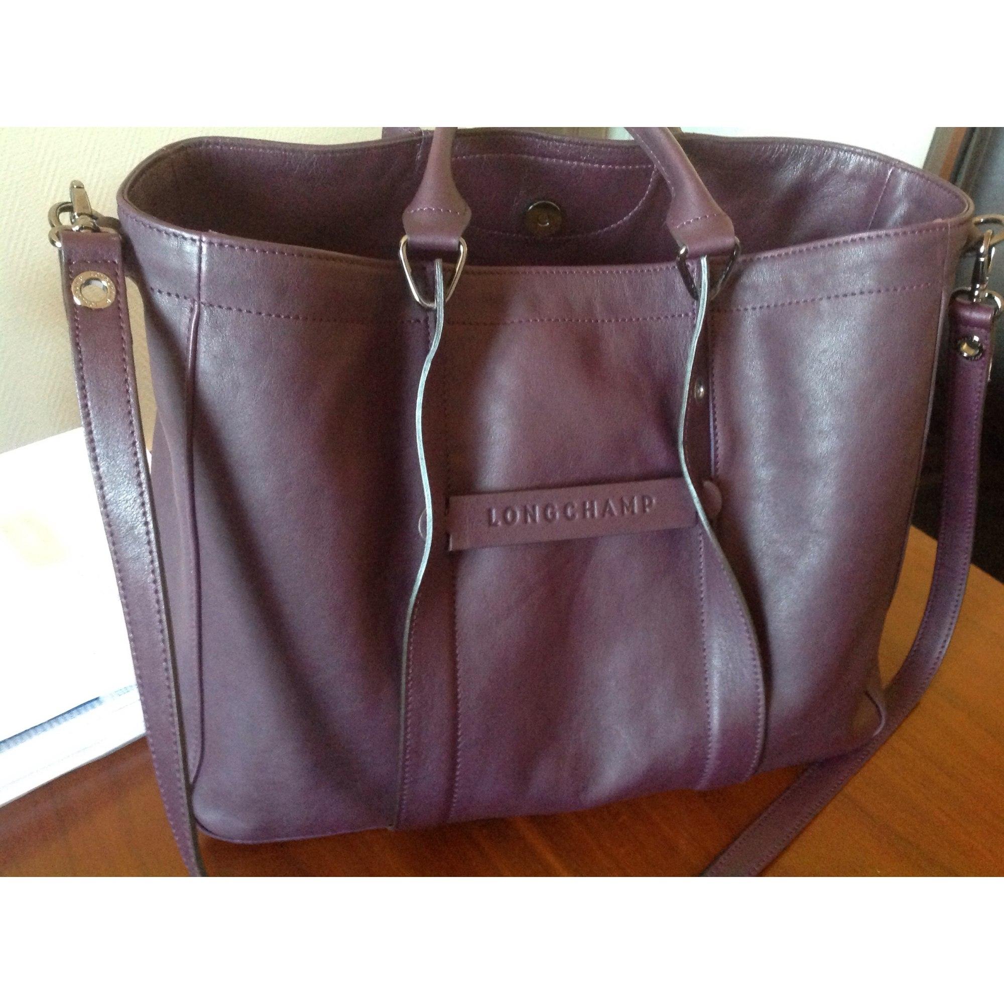Sac Cuir Vendu Alexandra484290 Longchamp Xl Violet En Par 3878415 txsBrChdoQ