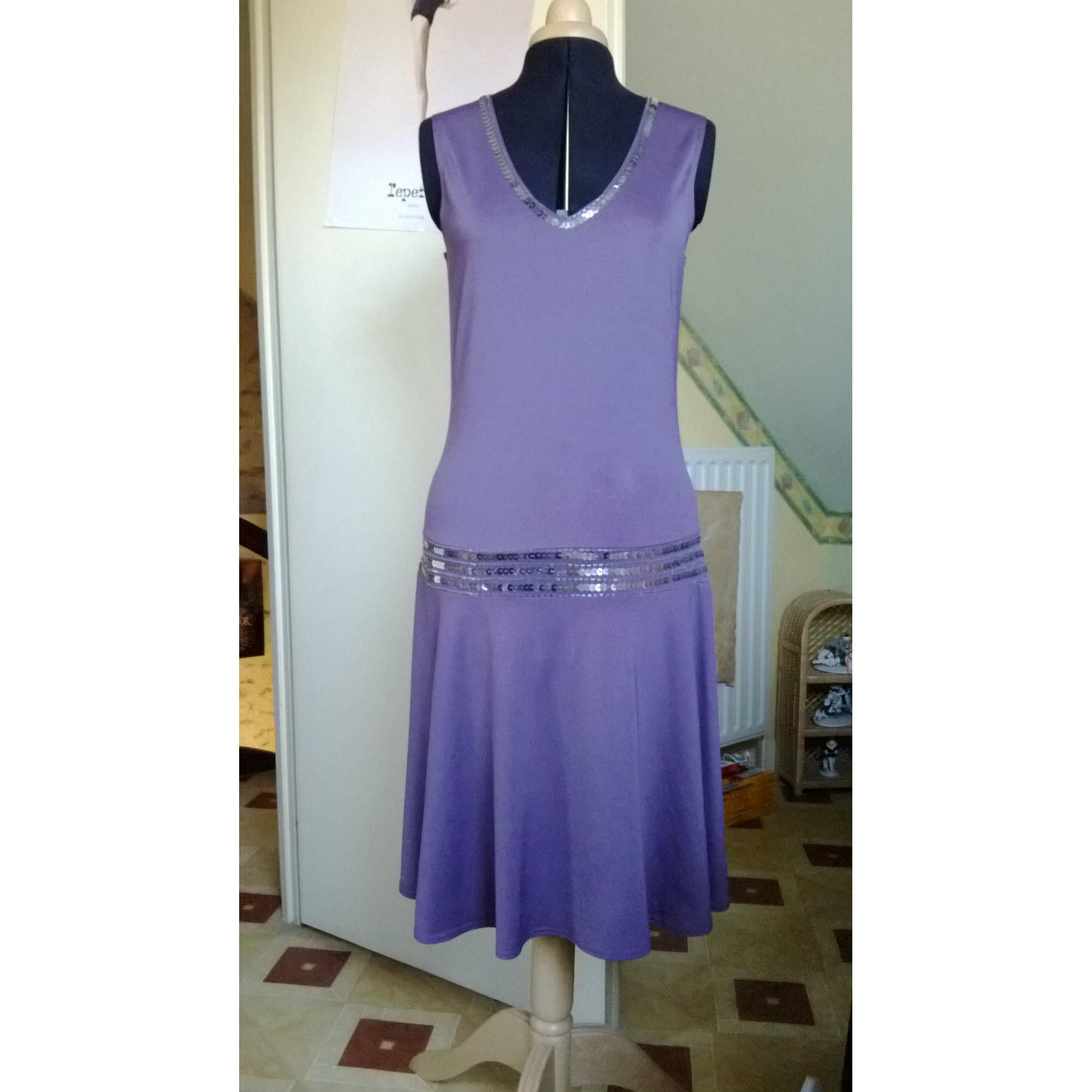 e69b57805b7 Robe courte VOTRE MODE 3 SUISSES Violet